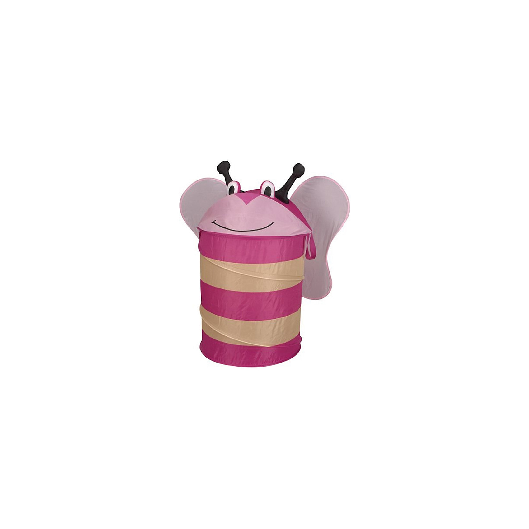 - Корзина для игрушек Пчелка [супермаркет] иномат импорт jingdong офиса хранение корзины кухня хранение корзина отделка корзина корзина хранения pink