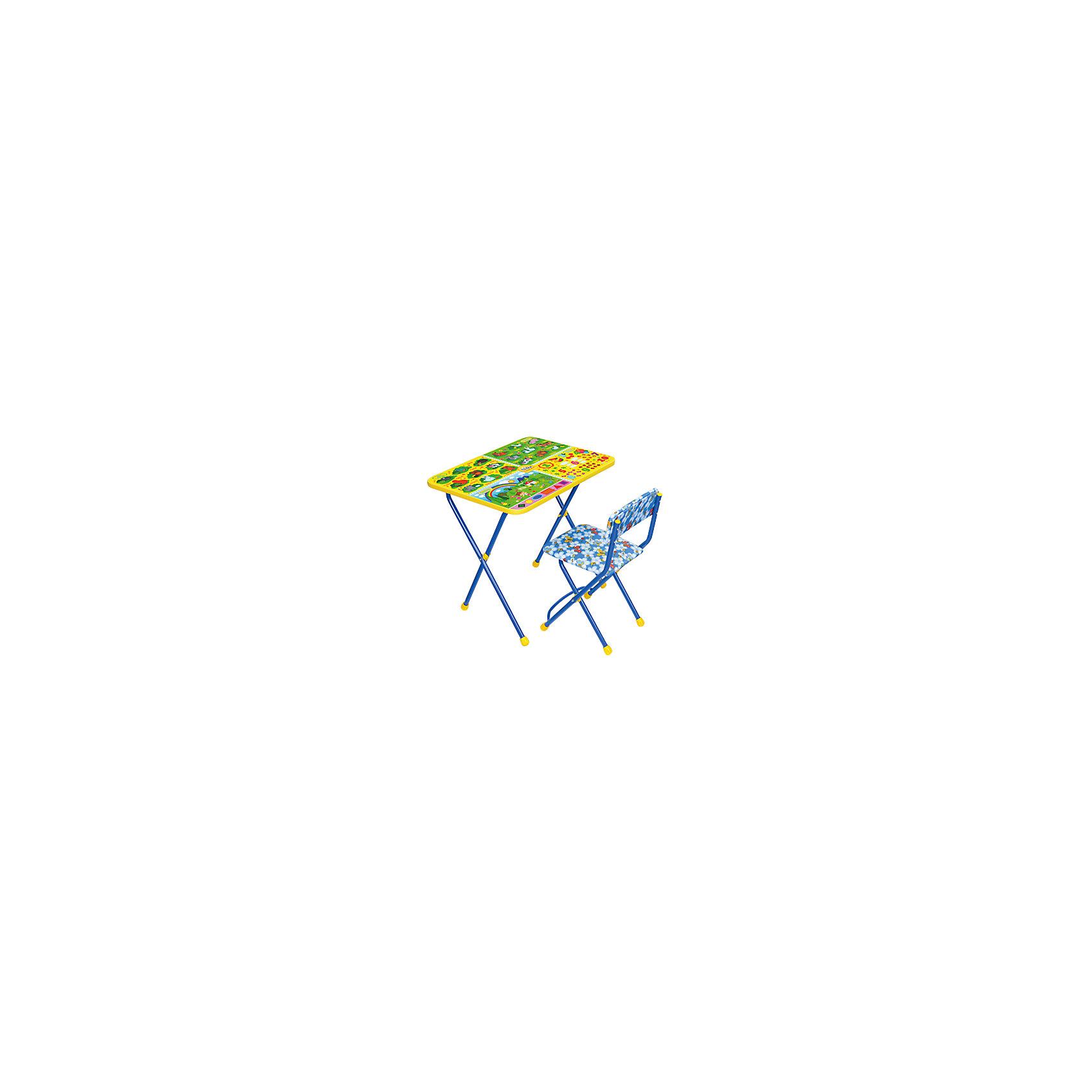 Набор мебели Хочу все знатьНабор детской мебели Хочу все знать состоит из двух предметов: стол-парта и стульчик.  На крышке столика изображены рисунки способствующие развитию ребенка.<br><br>Дополнительная информация:<br><br>В комплект входит стол-парта и стул с мягким сиденьем.<br>- Металлический каркас.<br>- Столешница облицована пленкой с тематическими рисунками.<br>- На ножках стула установлены пластмассовые наконечники.<br>- Размер столика: 59х45х57 см.<br>- Размер стула: высота до сиденья 32 см, высота со спинкой 56 см.<br>Сиденье: 30х27 см.<br>- Возраст: от 3-х лет<br><br>Набор мебели Хочу все знать можно купить в нашем магазине.<br><br>Ширина мм: 580<br>Глубина мм: 120<br>Высота мм: 450<br>Вес г: 8000<br>Возраст от месяцев: 36<br>Возраст до месяцев: 108<br>Пол: Унисекс<br>Возраст: Детский<br>SKU: 4718355