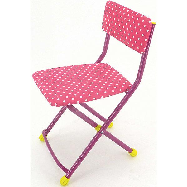 Складной стул СТУ3 Горошек, Ника, розовыйДетские столы и стулья<br>Стул предназначен для кормления, поэтому после еды его спокойно можно помыть за ребенком, если испачкался. Складной стул выполнен из металлического каркаса. Сиденье имеет мягкую обивку ярких расцветок. На ножках стула установлены пластмассовые наконечники.<br><br>Дополнительная информация:<br><br>- Возраст: от 3 лет.<br>- Обшивка стирается<br>- Материал: пластик и метал.<br>- Цвет: розовый.<br><br>Детский складной стул Горошек в розовом цвете можно купить в нашем магазине.<br><br>Ширина мм: 590<br>Глубина мм: 120<br>Высота мм: 300<br>Вес г: 2400<br>Возраст от месяцев: 36<br>Возраст до месяцев: 84<br>Пол: Унисекс<br>Возраст: Детский<br>SKU: 4718365