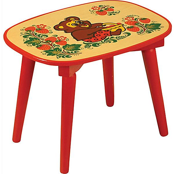 Скамейка с росписью ЗверькиДетские столы и стулья<br>Такая скамейка была практически у каждого в детстве, так пусть и вашего ребенка радует!<br>Яркая красочная скамейка с медвежатами прекрасно подойдет к столу, выполненному в такой же стилистике. Роспись сделана по золотому фону традиционными красным и темно-коричневым цветами. Скамейка изготовленa из дерева, пропитанa льняным маслом и покрытa росписью и безвредным для ребенка лаком. Скамейка очень прочная и устойчивая, покрытие закалено при особом температурном режиме и не будет отслаиваться или облупливаться при частой влажной уборке.<br><br> <br>Дополнительная информация:<br><br>- Возраст: от 6 мес.<br>- Материал: дерево.<br>- Цвет: орнамент - Хохломская роспись Зверьки. <br>- Высота скамейки: 26 см.<br><br>Детскую скамейку с росписью Зверьки можно купить в нашем магазине.<br><br>Ширина мм: 260<br>Глубина мм: 120<br>Высота мм: 300<br>Вес г: 1600<br>Возраст от месяцев: 24<br>Возраст до месяцев: 84<br>Пол: Унисекс<br>Возраст: Детский<br>SKU: 4718370