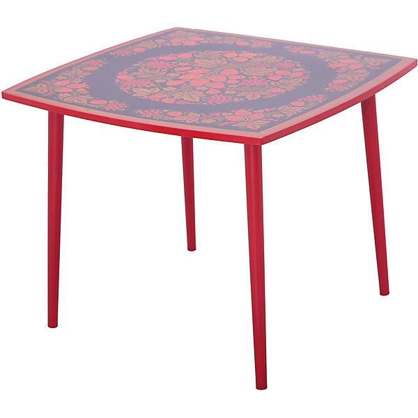 Стол ОсеньДетские столы и стулья<br>Красочный квадратный столик выполнен из массива. Его поверхность пропитана варёным льняным маслом и покрыта алюминиевым порошком и росписью. На поверхность стола также нанесены несколько слоев лака. Столик очень прочный и устойчивый, покрытие закалено при особом температурном режиме и не будет отслаиваться или облупливаться при частой влажной уборке.<br><br>Дополнительная информация:<br><br>- Возраст: от 6 мес.<br>- Материал: дерево.<br>- Цвет: орнамент - Хохломская роспись осень. <br>- Параметры стола: 65х65х52 см.<br><br>Детский столик Осень  можно купить в нашем магазине.<br><br>Ширина мм: 650<br>Глубина мм: 650<br>Высота мм: 520<br>Вес г: 8000<br>Возраст от месяцев: 36<br>Возраст до месяцев: 108<br>Пол: Унисекс<br>Возраст: Детский<br>SKU: 4718373
