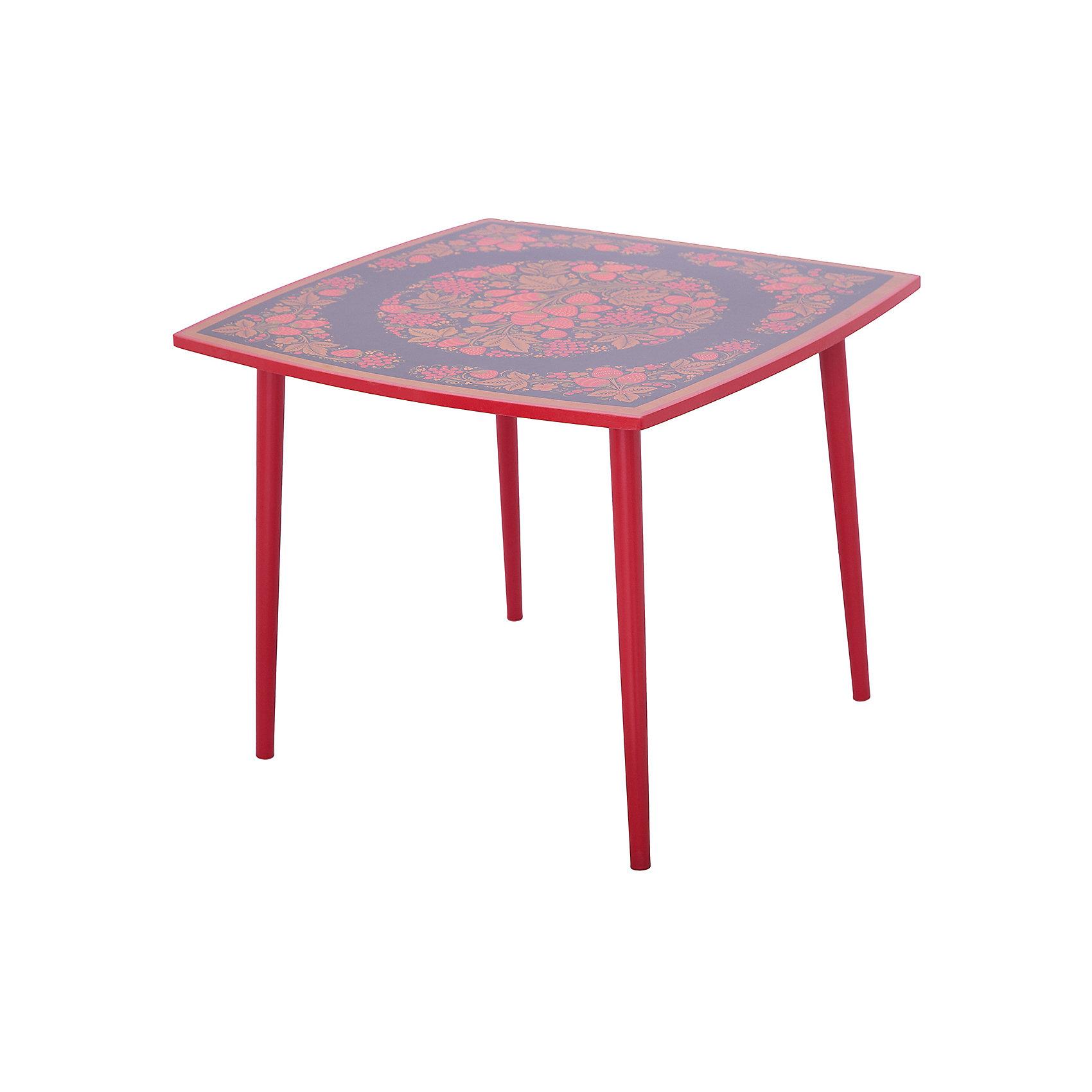 Стол ОсеньМебель<br>Красочный квадратный столик выполнен из массива. Его поверхность пропитана варёным льняным маслом и покрыта алюминиевым порошком и росписью. На поверхность стола также нанесены несколько слоев лака. Столик очень прочный и устойчивый, покрытие закалено при особом температурном режиме и не будет отслаиваться или облупливаться при частой влажной уборке.<br><br>Дополнительная информация:<br><br>- Возраст: от 6 мес.<br>- Материал: дерево.<br>- Цвет: орнамент - Хохломская роспись осень. <br>- Параметры стола: 65х65х52 см.<br><br>Детский столик Осень  можно купить в нашем магазине.<br><br>Ширина мм: 650<br>Глубина мм: 650<br>Высота мм: 520<br>Вес г: 8000<br>Возраст от месяцев: 36<br>Возраст до месяцев: 108<br>Пол: Унисекс<br>Возраст: Детский<br>SKU: 4718373
