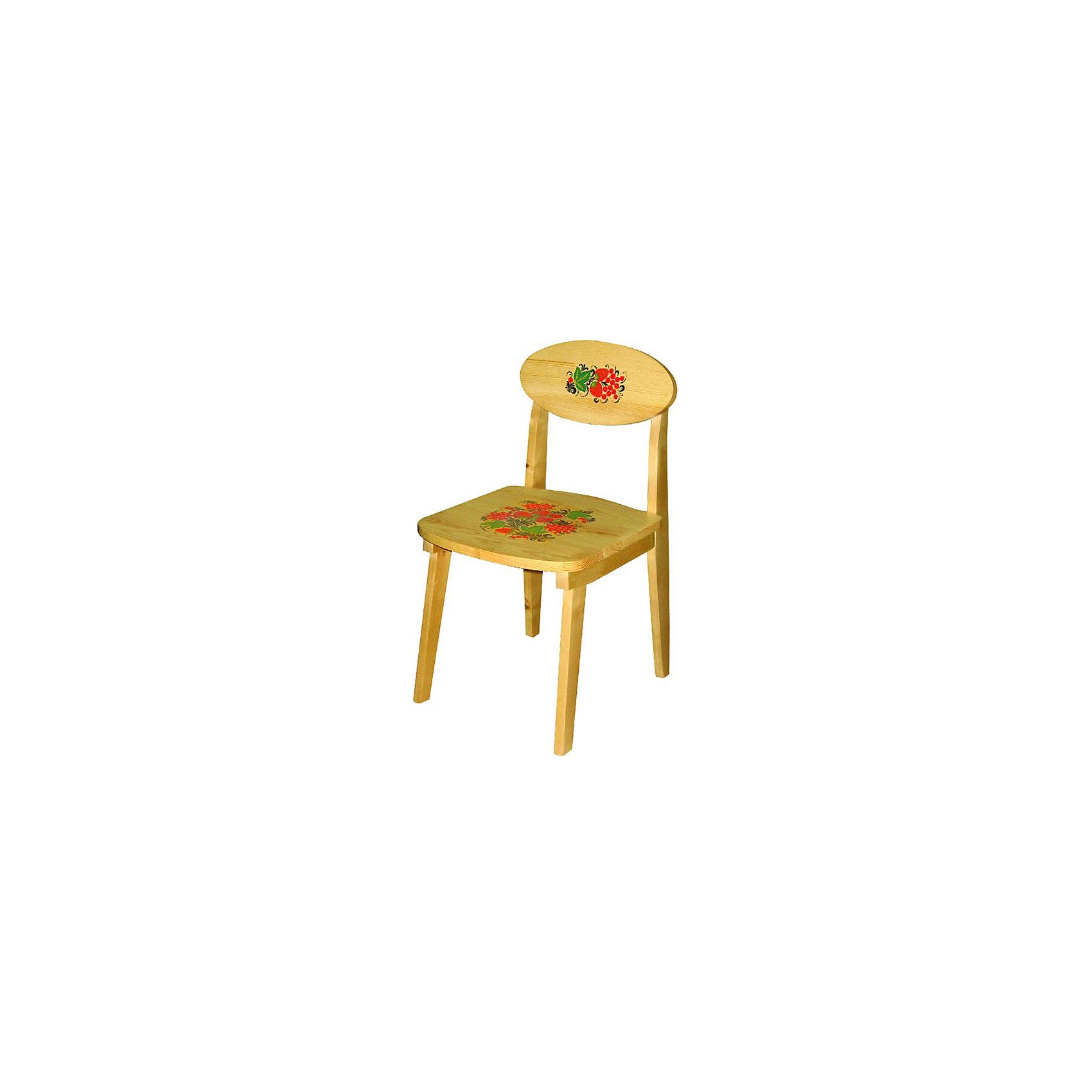 Стул с росписьюМебель<br>Такой сказочный стульчик был практически у каждого в детстве, так пусть и вашего ребенка радует!<br>Яркий красочный стульчик прекрасно подойдет к столу, выполненному в такой же стилистике. Роспись сделана по золотому фону традиционными красным и коричневыми цветами. Стул изготовлен из дерева, пропитан льняным маслом и покрыт росписью и безвредным для ребенка лаком. Стул очень прочный и устойчивый, покрытие закалено при особом температурном режиме и не будет отслаиваться или облупливаться при частой влажной уборке.<br><br>Дополнительная информация:<br><br>- Возраст: от 6 мес.<br>- Материал: дерево.<br>- Цвет: орнамент - Хохломская роспись .<br>- Параметры стола: Высота: 50 см.<br>                                      Сидение: 30х29 см.<br><br>Детский стул с росписью можно купить в нашем магазине.<br><br>Ширина мм: 500<br>Глубина мм: 120<br>Высота мм: 300<br>Вес г: 2000<br>Возраст от месяцев: 24<br>Возраст до месяцев: 84<br>Пол: Унисекс<br>Возраст: Детский<br>SKU: 4718385
