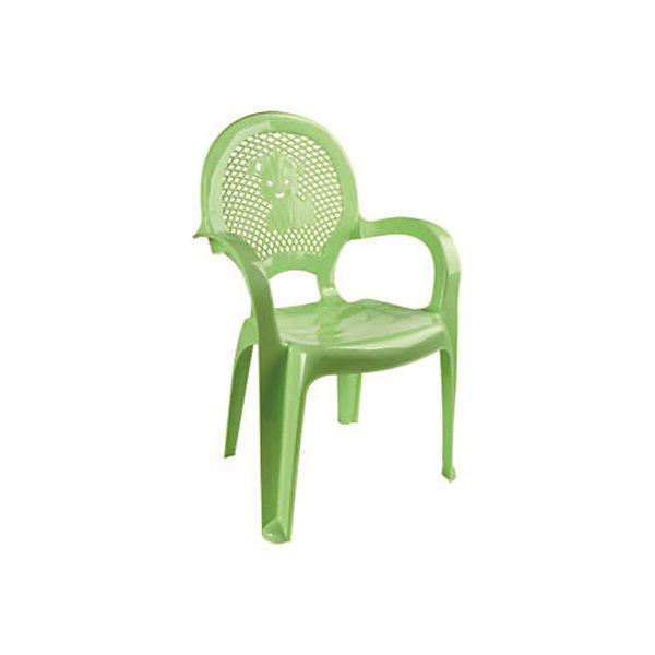 Зеленый стулДетские столы и стулья<br>Яркий, удобный стульчик для вашего малыша. Изделие изготовлено из высококачественной пластмассы с использованием современных технологий. Все условия для комфорта вашего малыша: спинка высокая, сетчатая, эргономичные подлокотники, форма компактная и удобная для хранения - стулья можно составить один в другой, легко моется водой с любым моющим средством. <br><br>Дополнительная информация:<br><br>Материал: пластик.<br>Размер: высота - 55 см.<br>Цвет: зеленый.<br><br>Детский стульчик в зеленом цвете, можно купить в нашем магазине.<br>Ширина мм: 750; Глубина мм: 480; Высота мм: 380; Вес г: 600; Возраст от месяцев: 24; Возраст до месяцев: 84; Пол: Унисекс; Возраст: Детский; SKU: 4718402;