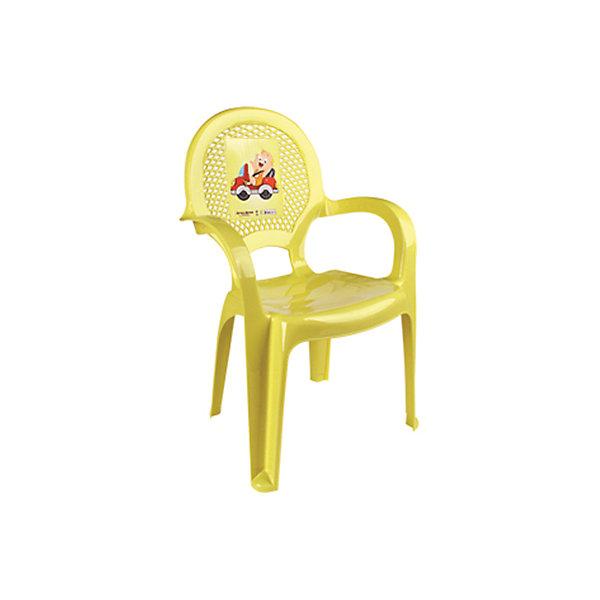 Стул Мальчик на машинкеДетские столы и стулья<br>Яркий, удобный стульчик для вашего малыша. Изделие изготовлено из высококачественной пластмассы с использованием современных технологий. Все условия для комфорта вашего малыша: спинка высокая, на спинке имеется рисунок, спинка сетчатая, эргономичные подлокотники, форма компактная и удобная для хранения - стулья можно составить один в другой, легко моется водой с любым моющим средством. <br><br>Дополнительная информация:<br><br>Материал: пластик.<br>Размер: высота - 55 см.<br>Цвет: желтый.<br><br>Детский стульчик с рисунком в желтом цвете, можно купить в нашем магазине.<br><br>Ширина мм: 750<br>Глубина мм: 480<br>Высота мм: 380<br>Вес г: 600<br>Возраст от месяцев: 24<br>Возраст до месяцев: 84<br>Пол: Унисекс<br>Возраст: Детский<br>SKU: 4718404
