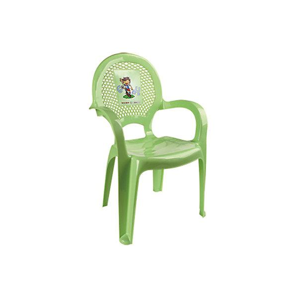 Стул ФутболДетские столы и стулья<br>Яркий, удобный стульчик для вашего малыша. Изделие изготовлено из высококачественной пластмассы с использованием современных технологий. Все условия для комфорта вашего малыша: спинка высокая, на спинке имеется рисунок, спинка сетчатая, эргономичные подлокотники, форма компактная и удобная для хранения - стулья можно составить один в другой, легко моется водой с любым моющим средством. <br><br>Дополнительная информация:<br><br>Материал: пластик.<br>Размер: высота - 55 см.<br>Цвет: салатовый.<br><br>Детский стульчик с рисунком в салатовом цвете, можно купить в нашем магазине.<br><br>Ширина мм: 750<br>Глубина мм: 480<br>Высота мм: 380<br>Вес г: 600<br>Возраст от месяцев: 24<br>Возраст до месяцев: 84<br>Пол: Унисекс<br>Возраст: Детский<br>SKU: 4718406