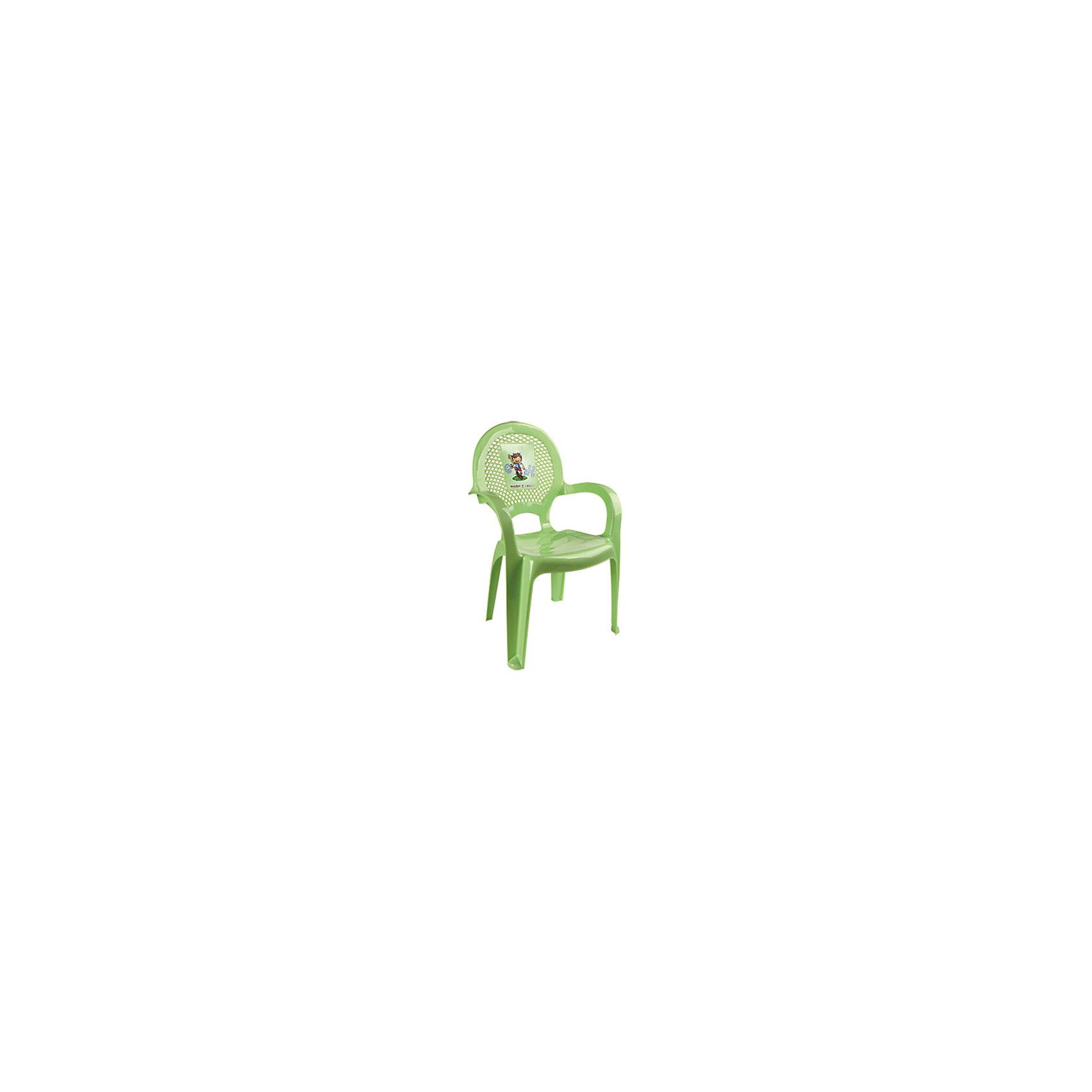 Стул ФутболМебель<br>Яркий, удобный стульчик для вашего малыша. Изделие изготовлено из высококачественной пластмассы с использованием современных технологий. Все условия для комфорта вашего малыша: спинка высокая, на спинке имеется рисунок, спинка сетчатая, эргономичные подлокотники, форма компактная и удобная для хранения - стулья можно составить один в другой, легко моется водой с любым моющим средством. <br><br>Дополнительная информация:<br><br>Материал: пластик.<br>Размер: высота - 55 см.<br>Цвет: салатовый.<br><br>Детский стульчик с рисунком в салатовом цвете, можно купить в нашем магазине.<br><br>Ширина мм: 750<br>Глубина мм: 480<br>Высота мм: 380<br>Вес г: 600<br>Возраст от месяцев: 24<br>Возраст до месяцев: 84<br>Пол: Унисекс<br>Возраст: Детский<br>SKU: 4718406