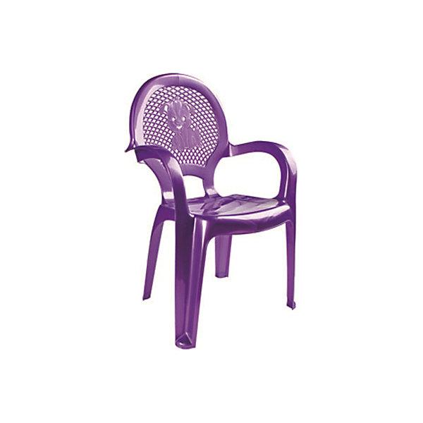 Фиолетовый стулДетские столы и стулья<br>Яркий, удобный стульчик для вашего малыша. Изделие изготовлено из высококачественной пластмассы с использованием современных технологий. Все условия для комфорта вашего малыша: спинка высокая, сетчатая, эргономичные подлокотники, форма компактная и удобная для хранения - стулья можно составить один в другой, легко моется водой с любым моющим средством. <br><br>Дополнительная информация:<br><br>Материал: пластик.<br>Размер: высота - 55 см.<br>Цвет: фиолетовый.<br><br>Детский стульчик в фиолетовом цвете, можно купить в нашем магазине.<br><br>Ширина мм: 750<br>Глубина мм: 480<br>Высота мм: 380<br>Вес г: 600<br>Возраст от месяцев: 24<br>Возраст до месяцев: 84<br>Пол: Унисекс<br>Возраст: Детский<br>SKU: 4718408