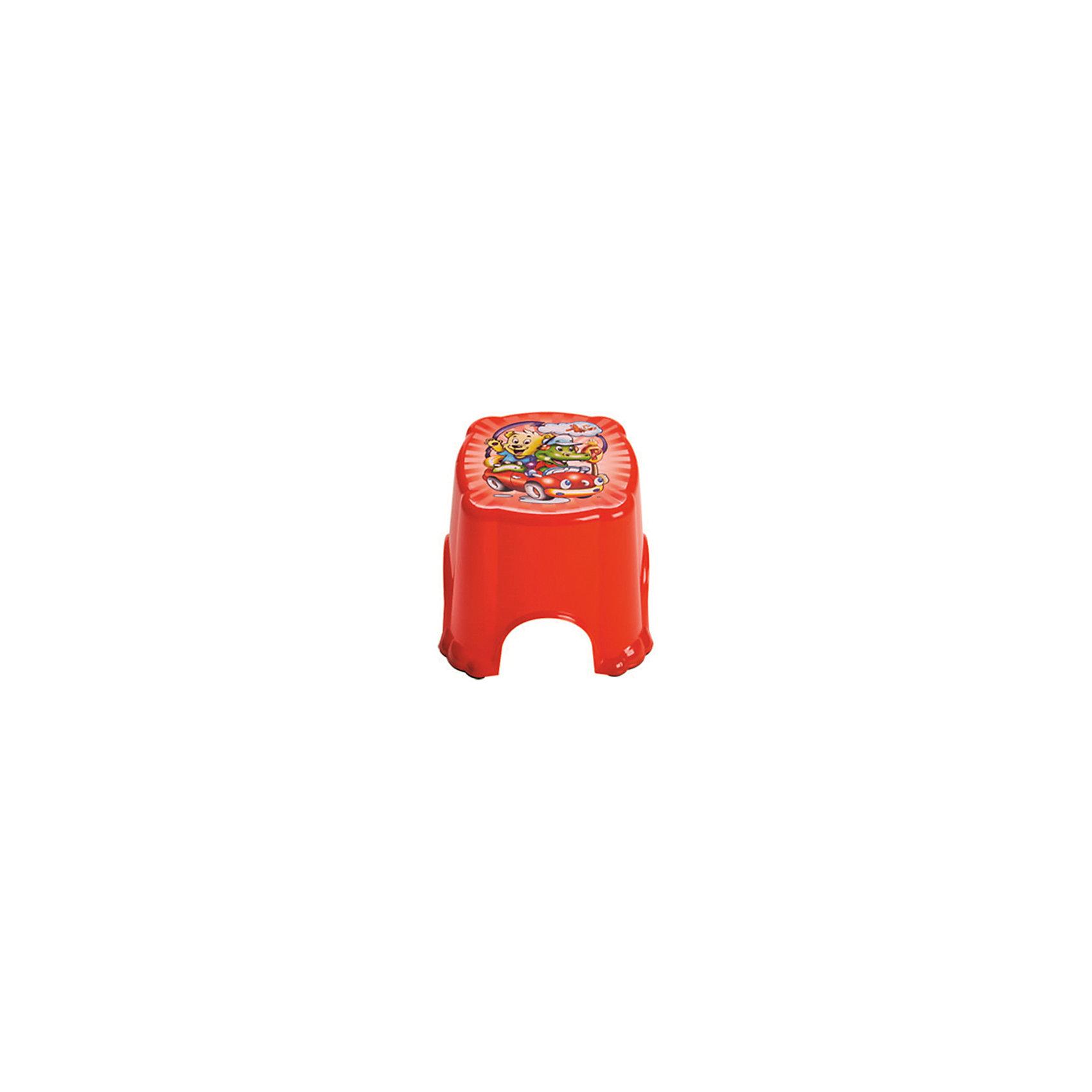 Красный табуретДетский табурет из твердой пластмассы поможет малышу самостоятельно умываться и чистить зубы. <br>Сверху используется противоскользящее покрытие, которое обеспечит безопасность вашему ребенку.<br><br>Дополнительная информация:<br><br>Материал: пластик.<br>Цвет: красный.<br>Размеры 25,5 x 25,5 x 21 см.<br><br>Детский табурет в красном цвете, можно купить в нашем магазине.<br><br>Ширина мм: 750<br>Глубина мм: 480<br>Высота мм: 380<br>Вес г: 300<br>Возраст от месяцев: 24<br>Возраст до месяцев: 84<br>Пол: Унисекс<br>Возраст: Детский<br>SKU: 4718412