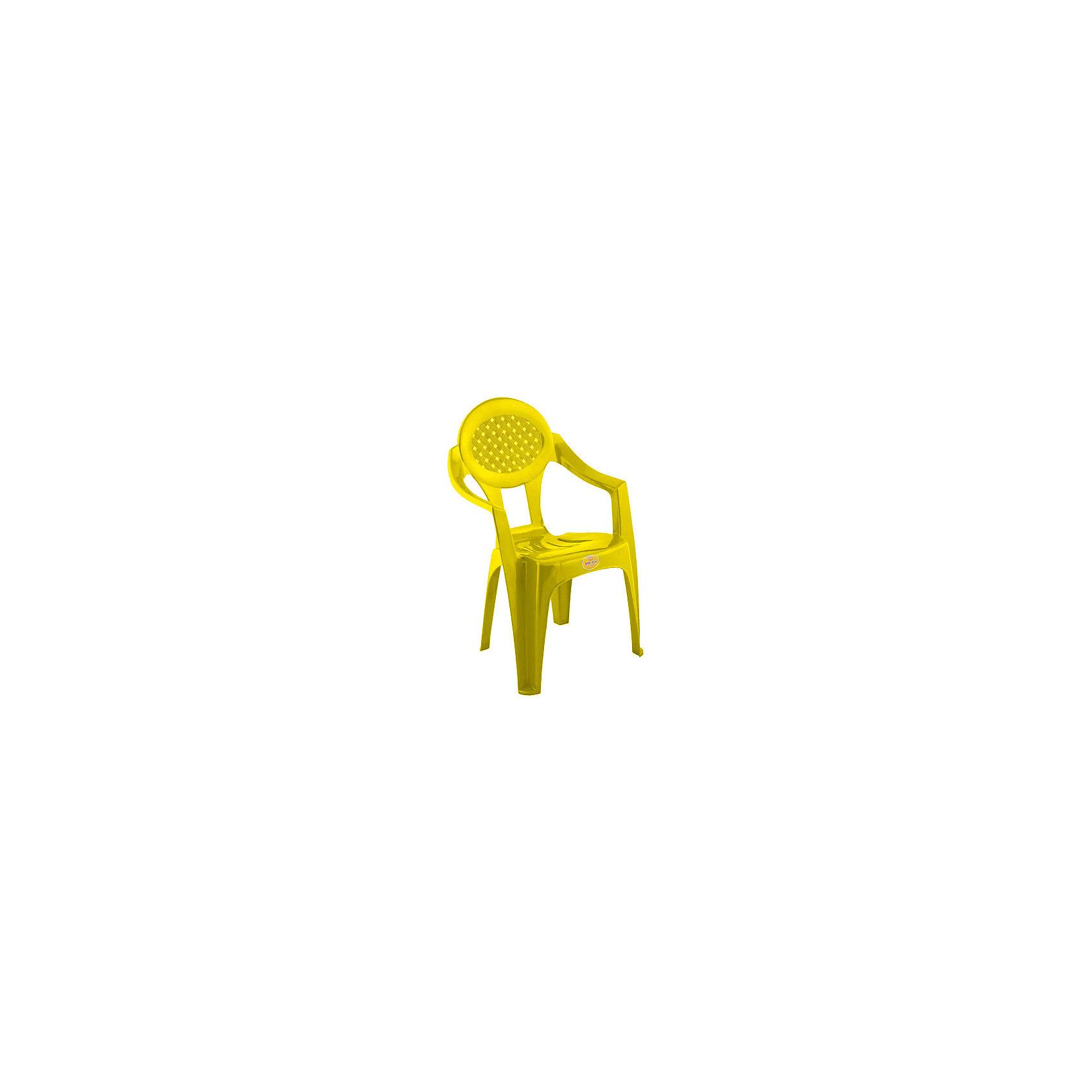 Желтый стул
