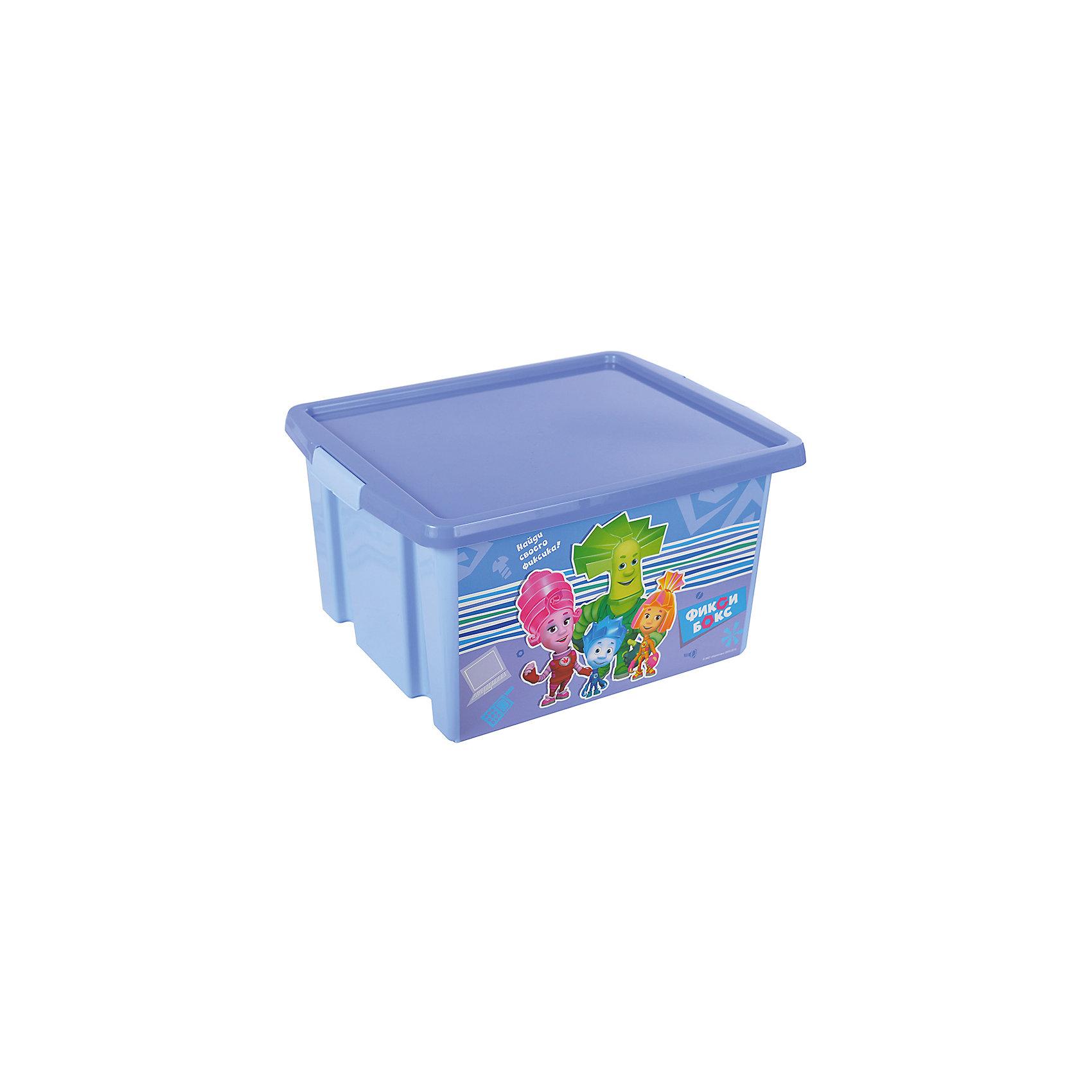 Ящик для игрушек Фиксики, 30 л, голубойЯркий и удобный ящик с изображениями любимых героев обязательно понравится детям и приучит их к порядку. Ведь убирать вещи и игрушки в такой контейнер - одно удовольствие! Вместительный ящик выполнен из высококачественного прочного пластика безопасного для детей. <br><br>Дополнительная информация:<br><br>- Материал: пластик.<br>- Размер: 47х37х25 см.<br>- Объем: 30 л.<br><br>Ящик для игрушек Фиксики, голубой, 30 л, можно купить в нашем магазине.<br><br>Ширина мм: 9999<br>Глубина мм: 9999<br>Высота мм: 9999<br>Вес г: 300<br>Возраст от месяцев: 12<br>Возраст до месяцев: 120<br>Пол: Унисекс<br>Возраст: Детский<br>SKU: 4718458