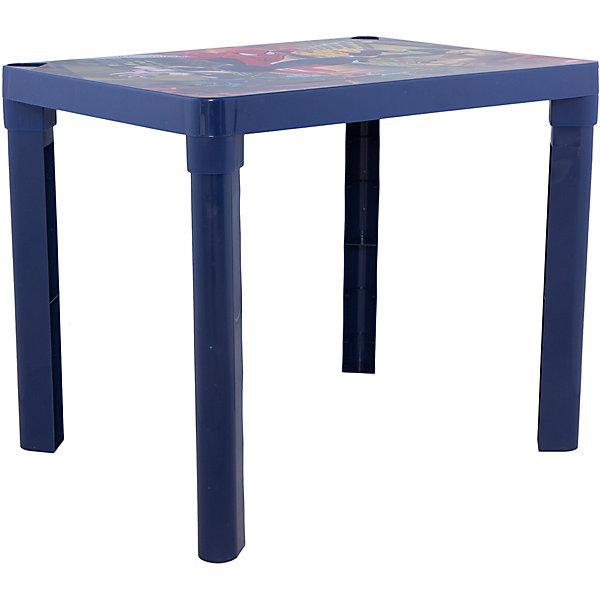 Стол Человек-ПаукДетские столы и стулья<br>Стол - незаменимая вещь в детской! Малышам понравится иметь свое собственное место для игр, чаепитий с игрушками и друзьями, занятий и даже обеда. Благодаря специальным выемкам, на столе можно расположить карандаши, фломастеры, кисточки и другие мелкие предметы - они не будут мешаться и скатываться. Столик выполнен из высококачественного прочного пластика, легко моется или протирается влажной губкой. Яркий пластиковый стол с изображениями любимых героев прекрасно впишется в интерьер комнаты и обязательно понравится любому ребенку! <br><br>Дополнительная информация:<br><br>- Материал: пластик.<br>- Размер: 60х45х47 см.<br>- Удобные выемки для мелких предметов. <br><br>Детский стол Человек-паук (Spider-Man), голубой, можно купить в нашем магазине.<br>Ширина мм: 600; Глубина мм: 450; Высота мм: 470; Вес г: 1000; Возраст от месяцев: 36; Возраст до месяцев: 108; Пол: Унисекс; Возраст: Детский; SKU: 4718467;