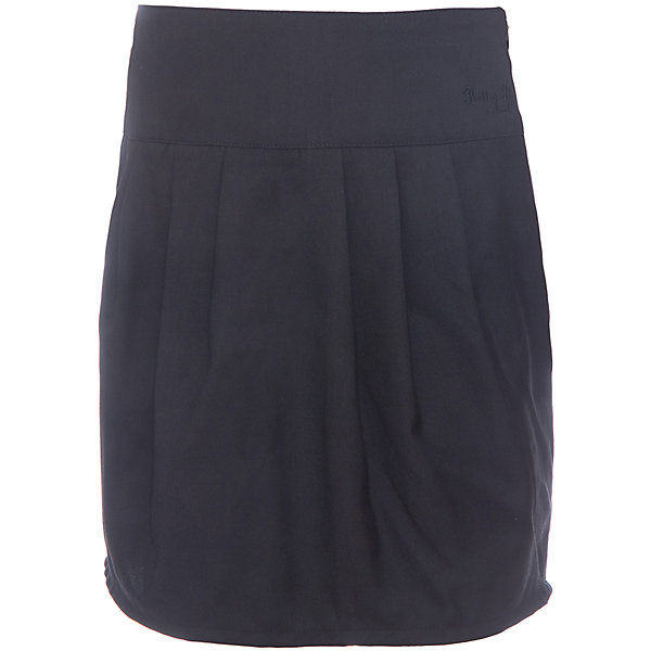 Юбка для девочки Button BlueЮбки<br>Юбка для девочки от известного бренда Button Blue<br>Строгая темная юбка на широкой кокетке необходима каждой школьнице. Крупные складки  спереди и сзади обеспечивают комфортный свободный силуэт, а также придают модели индивидуальные черты. На поясе изделия - небольшая фирменная вышивка.<br>Состав:<br>80% полиэстер, 20% вискоза<br>Ширина мм: 207; Глубина мм: 10; Высота мм: 189; Вес г: 183; Цвет: черный; Возраст от месяцев: 108; Возраст до месяцев: 120; Пол: Женский; Возраст: Детский; Размер: 140,146,152,158,134,128,122; SKU: 4719203;