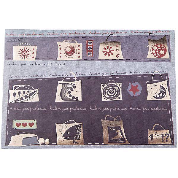 Альбом для рисования, 60 л.Бумажная продукция<br>Альбом для рисования поможет вашему ребенку воплотить свои самые оригинальные фантазии в художественном творчестве. Плотные листы бумаги прекрасно подойдут для рисования красками и фломастерами. <br><br>Дополнительная информация:<br><br>- Формат: А5.<br>- Количество листов: 60.<br>- Мягкий переплет, крепление клеем. <br><br>Альбом для рисования, 60 л, можно купить в нашем магазине.<br>Ширина мм: 207; Глубина мм: 149; Высота мм: 9; Вес г: 202; Возраст от месяцев: 12; Возраст до месяцев: 2147483647; Пол: Унисекс; Возраст: Детский; SKU: 4719267;