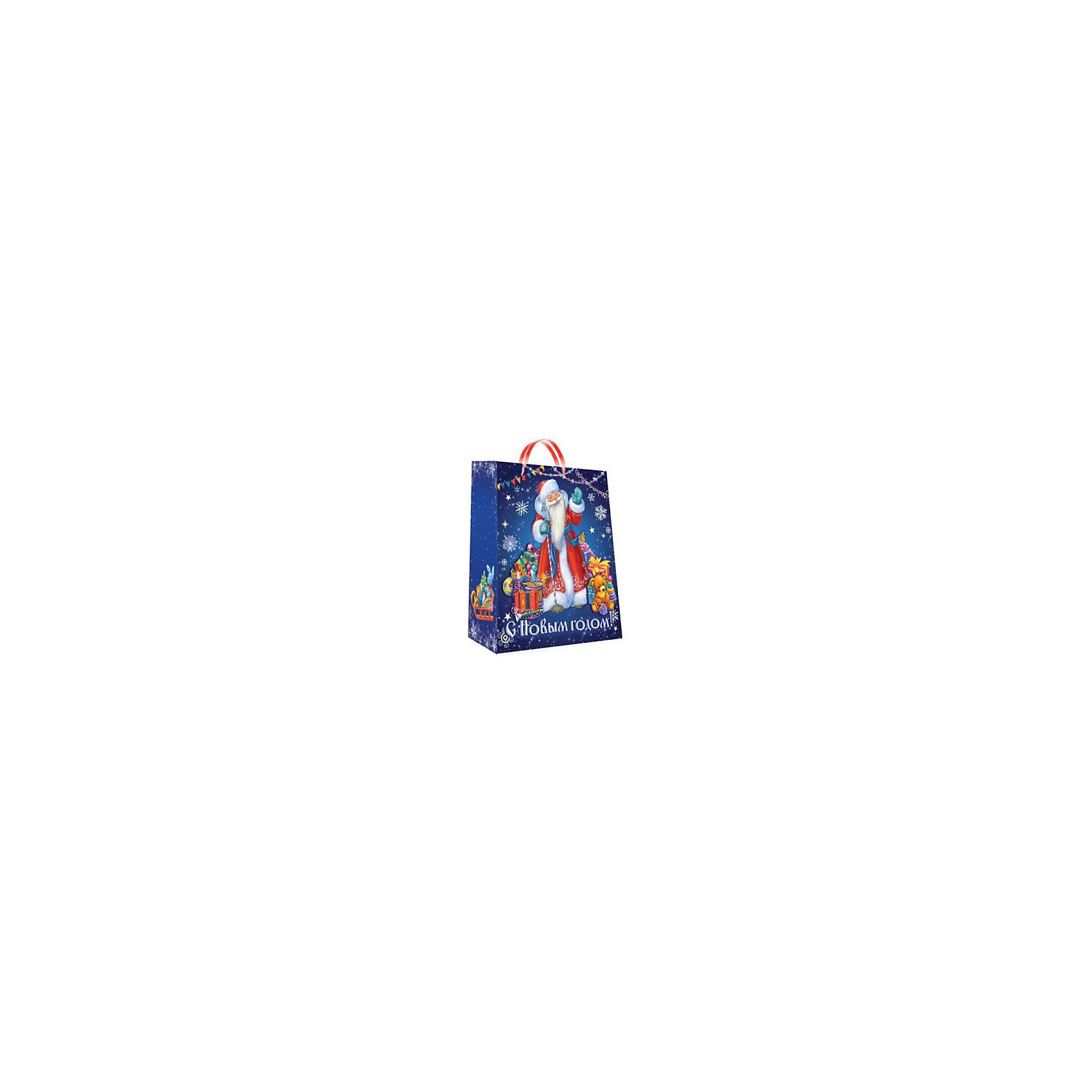 Бумажный новогодний пакетВсё для праздника<br>Красиво упакованный подарок приятно получать вдвойне! Прочный красивый пакет станет прекрасным дополнением к подарку. <br><br>Дополнительная информация:<br><br>- Материал: бумага.<br>- Размер: 18х23х10 cм.<br>- Эффект: глянцевая поверхность.<br><br>Бумажный новогодний пакет можно купить в нашем магазине.<br><br>Ширина мм: 275<br>Глубина мм: 176<br>Высота мм: 2<br>Вес г: 50<br>Возраст от месяцев: 60<br>Возраст до месяцев: 2147483647<br>Пол: Унисекс<br>Возраст: Детский<br>SKU: 4719268