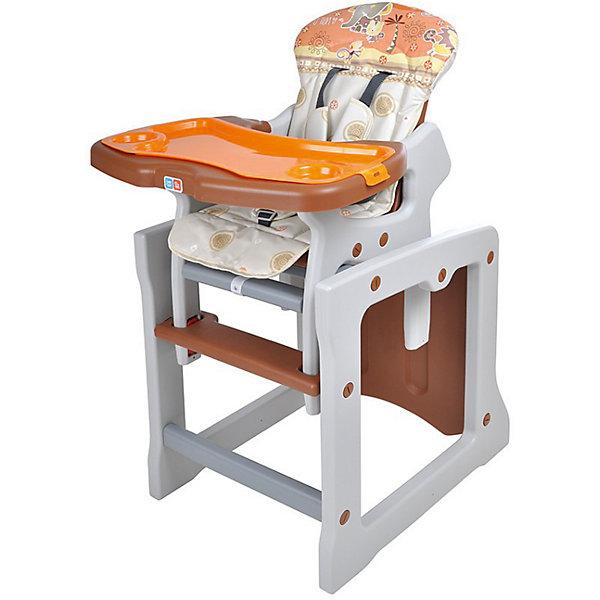 Стульчик-трансформер TIESTO, Ber BerСтульчики для кормления<br>Яркий и удобный стульчик-трансформер TIESTO позволит посадить ребенка, не беспокоясь при этом о его безопасности. Яркий цвет изделия привлечет внимание малыша. Эта модель очень удобна: стул можно применять как для кормления, так и использовать как игровой столик. На нем - двойная съемная столешница с регулируемым расстоянием от сиденья и двухступенчатая регулировка наклона спинки сиденья, а также пятиточечные регулируемые ремни безопасности.<br>Обивка столика устойчива к загрязнениям и легко чистится! Конструкция  - очень устойчивая. Изделие произведено из качественных и безопасных для малышей материалов, оно соответствуют всем современным требованиям безопасности.<br> <br>Дополнительная информация:<br><br>цвет: разноцветный;<br>двойная съемная столешница с регулируемым расстоянием от сиденья;<br>2-х ступенчатая регулировка наклона спинки сиденья;<br>5-точечные регулируемые ремни безопасности;<br>обивка устойчива к загрязнениям и легко чистится;<br>возраст: от 0,5 до 3 лет;<br>размер в разложенном состоянии: 55x107x50 см;<br>вес: 8,1 кг.<br><br>Стульчик-трансформер TIESTO от компании Ber Ber можно купить в нашем магазине.<br><br>Ширина мм: 1030<br>Глубина мм: 390<br>Высота мм: 730<br>Вес г: 8100<br>Возраст от месяцев: 6<br>Возраст до месяцев: 36<br>Пол: Унисекс<br>Возраст: Детский<br>SKU: 4720012