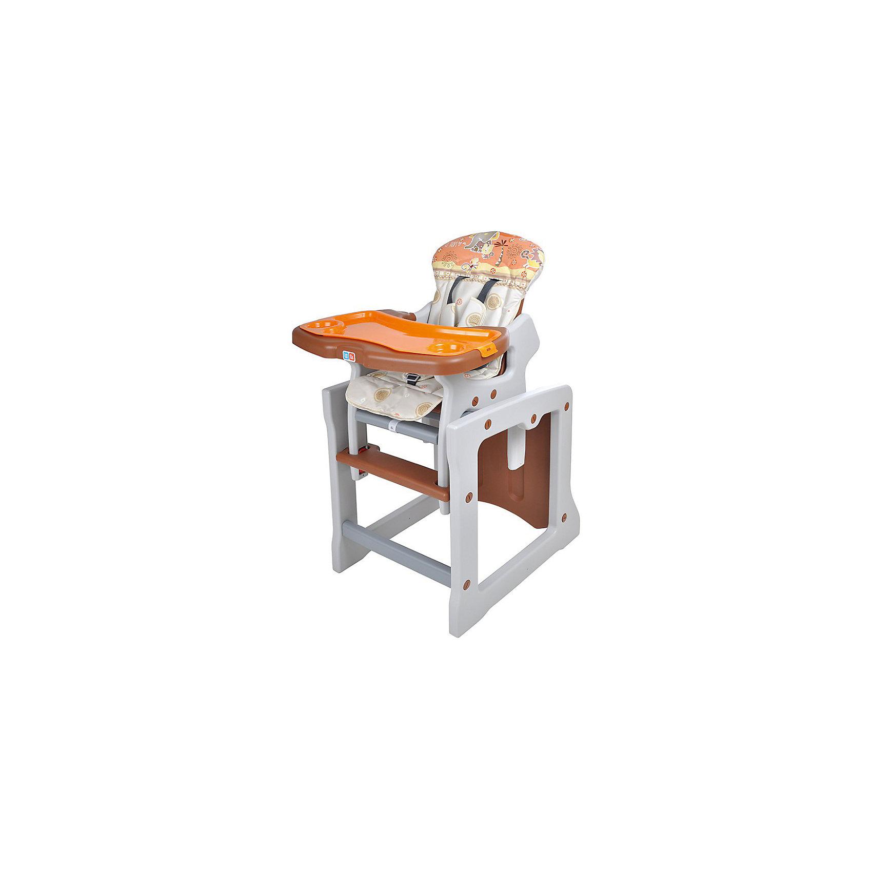 Стульчик-трансформер TIESTO, Ber Berтрансформеры<br>Яркий и удобный стульчик-трансформер TIESTO позволит посадить ребенка, не беспокоясь при этом о его безопасности. Яркий цвет изделия привлечет внимание малыша. Эта модель очень удобна: стул можно применять как для кормления, так и использовать как игровой столик. На нем - двойная съемная столешница с регулируемым расстоянием от сиденья и двухступенчатая регулировка наклона спинки сиденья, а также пятиточечные регулируемые ремни безопасности.<br>Обивка столика устойчива к загрязнениям и легко чистится! Конструкция  - очень устойчивая. Изделие произведено из качественных и безопасных для малышей материалов, оно соответствуют всем современным требованиям безопасности.<br> <br>Дополнительная информация:<br><br>цвет: разноцветный;<br>двойная съемная столешница с регулируемым расстоянием от сиденья;<br>2-х ступенчатая регулировка наклона спинки сиденья;<br>5-точечные регулируемые ремни безопасности;<br>обивка устойчива к загрязнениям и легко чистится;<br>возраст: от 0,5 до 3 лет;<br>размер в разложенном состоянии: 55x107x50 см;<br>вес: 8,1 кг.<br><br>Стульчик-трансформер TIESTO от компании Ber Ber можно купить в нашем магазине.<br><br>Ширина мм: 1030<br>Глубина мм: 390<br>Высота мм: 730<br>Вес г: 8100<br>Возраст от месяцев: 6<br>Возраст до месяцев: 36<br>Пол: Унисекс<br>Возраст: Детский<br>SKU: 4720012