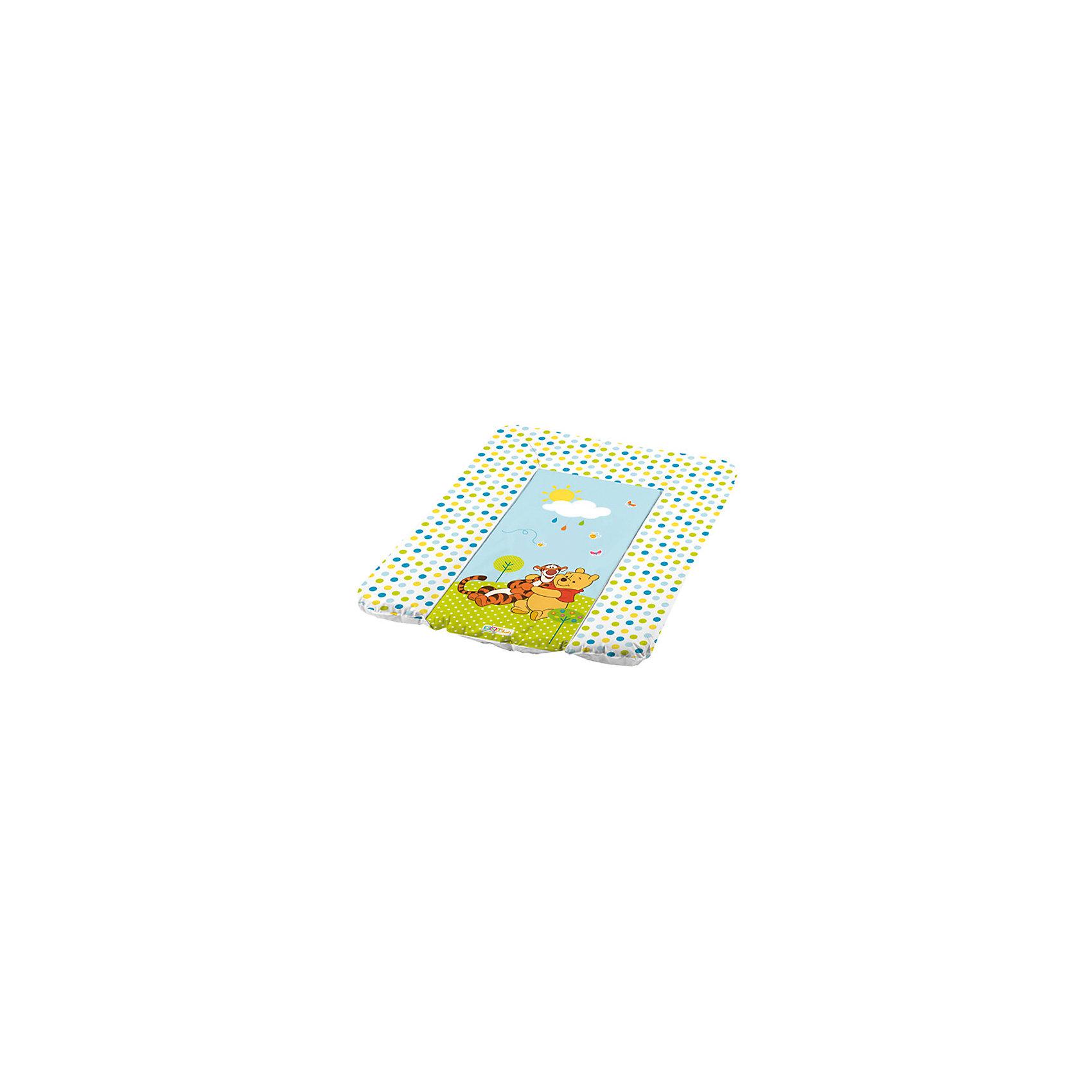 OKT kids Матрас для пеленания DISNEY Винни-Пух, OKT kids, белый disney гирлянда детская на ленте тачки с днем рождения