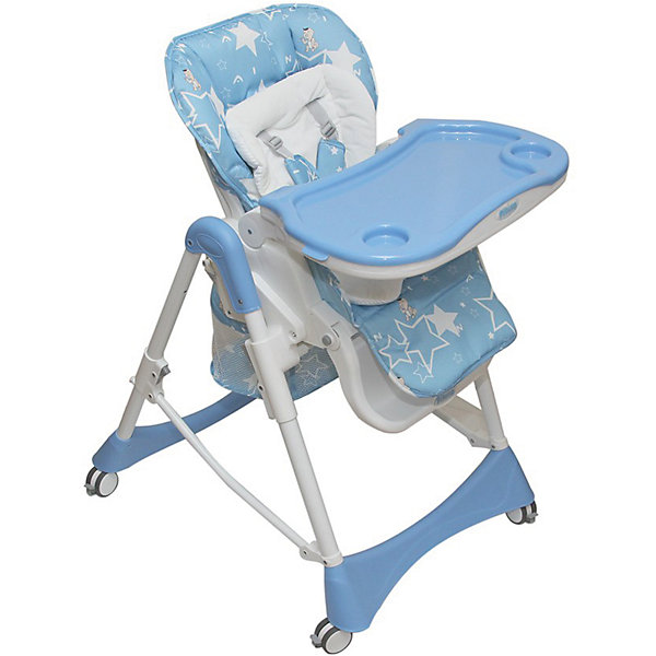 Стульчик для кормления Nana, Pituso, голубойСтульчики для кормления<br>Красивый удобный стульчик для кормления Nana позволит посадить ребенка, не беспокоясь при этом о его безопасности. Яркий цвет изделия привлечет внимание малыша. Эта модель очень удобна: есть тканевый чехол с водонепроницаемой пропиткой и мягкий съемный велюровый вкладыш, пятиточечный ремень безопасности. Спинка и уровень высоты сиденья регулируются. Есть корзина для игрушек и подстаканник.<br>Обивка столика устойчива к загрязнениям и легко чистится! Конструкция  - очень устойчивая. Изделие произведено из качественных и безопасных для малышей материалов, оно соответствуют всем современным требованиям безопасности.<br> <br>Дополнительная информация:<br><br>цвет: голубой;<br>съемный тканевый чехол с водонепроницаемой пропиткой;<br>мягкий съемный велюровый вкладыш;<br>5-ти точечные ремни безопасности;<br>5 уровней высоты сиденья;<br>3 уровня положения спинки, положение лежа ;<br>регулируемая в трех положениях подножка;<br>Четыре колеса облегчают маневрирование<br>тормоз на всех колесах обеспечивает устойчивое положение;<br>съемная регулируемая в трех положениях столешница и съемным подносом;<br>регулировка положения подноса одной рукой;<br>съемный подстаканник;<br>большая, съемная корзина для игрушек;<br>компактно складывается и удобен для хранения;<br>максимальная нагрузка: 20 кг;<br>вес: 10 кг;<br>возраст: от 6 месяцев;<br>размер в разложенном состоянии: 48х27х72,5 см.<br><br>Стульчик для кормления Nana, голубой, от компании Pituso можно купить в нашем магазине.<br>Ширина мм: 475; Глубина мм: 265; Высота мм: 725; Вес г: 10200; Возраст от месяцев: 6; Возраст до месяцев: 36; Пол: Унисекс; Возраст: Детский; SKU: 4720055;