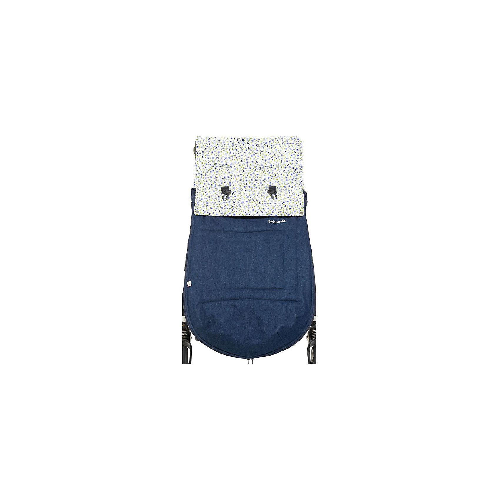 Конверт-трансформер хлопковый, Mammie, синийСтильный удобный Конверт в коляску позволит гулять с ребенком, не беспокоясь при этом о его комфорте. Изделие легко превращается в летний хлопковый матрасик, длина которого фиксируется при помощи липучки, также используется как демисезонное одеяло в люльку или как чехол для ножек. Внутренняя поверхность сделана из мягкого хлопка, внешняя – из хлопчатобумажной джинсовой ткани. Верхняя часть пристегивается к нижней молнией. Можно открыть конверт в районе ножек, есть защита от грязных ног внутри конверта.<br>Отверстия для 5-точечных ремней безопасности позволяют использовать конверт с большинством моделей колясок. Для максимального совпадения прорезей с ремнями безопасности на спинке конверта есть подготовленные места для дополнительных прорезей, которые можно разрезать тонкими острыми ножницами с внутренней стороны конверта. Верхняя часть конверта оборачивается вокруг бампера и фиксируется кнопками, превращая конверт в накидку для ножек.<br>Наполнитель - утеплитель Alpolux. Это экологически чистый утеплитель вип-класса, разработанный лучшими австрийскими экспертами. Уникальное сочетание натуральной шерсти мериноса и микроволокна помогает поддержать оптимальную температуру для ребенка. Конверт можно стирать в стиральной машине. Изделие произведено из качественных и безопасных для малышей материалов, оно соответствуют всем современным требованиям безопасности.<br> <br>Дополнительная информация:<br><br>цвет: синий;<br>материал: верх - джинсовая ткань - 100% хлопок, подкладка - 100% хлопок, утеплитель - Alpolux 200г/м2;<br>размер: 100х48 см;<br>температурный диапазон: от -5°С до +18°С;<br>возрастная группа: от 0 до 3,5 лет.<br><br>Конверт-трансформер хлопковый, синий, от компании Mammie можно купить в нашем магазине.<br><br>Ширина мм: 1000<br>Глубина мм: 480<br>Высота мм: 200<br>Вес г: 500<br>Возраст от месяцев: 0<br>Возраст до месяцев: 36<br>Пол: Унисекс<br>Возраст: Детский<br>SKU: 4720092