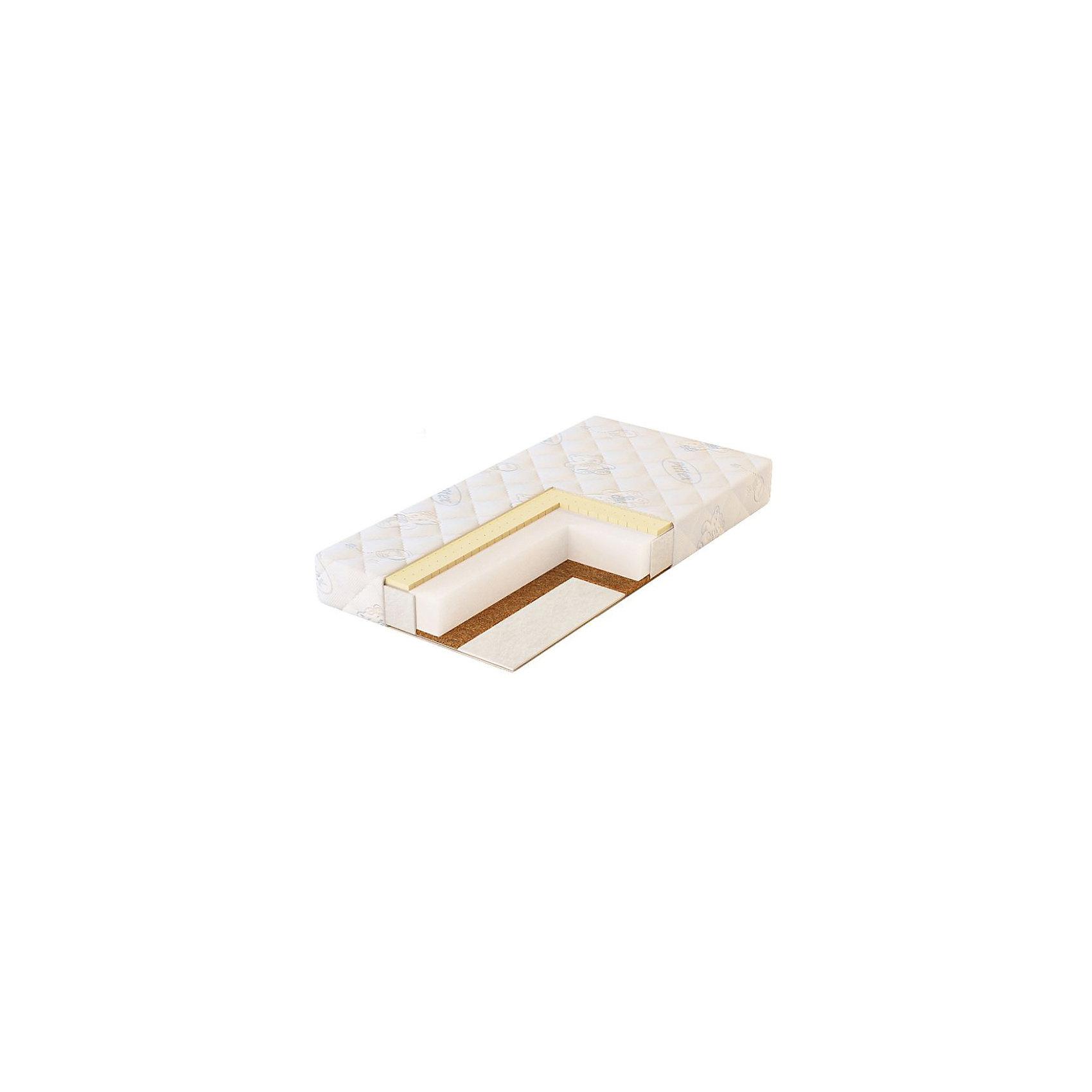 Матрас в кроватку ECO LIFE, PlitexЭтот детский матрасик разработан специально для малышей. Его можно использовать для детской кроватки. В основе - упругая монолитная плита из высокоплотного холлкона – высококачественного современного материала, который хорошо пропускает воздух и сберегает тепло, не накапливает статического напряжения, не боится влаги, долго служит. Также - латексированная кокосовая койра, это экологичный, упругий, жесткий материал, обладает исключительными антиаллергическими и антибактериальными свойствами: не впитывает запахи и влагу, не гниет, отлично пропускает воздух и регулирует температуру, к тому же не деформируется, гарантирует правильное формирование позвоночника ребенка. Стороны имеют разную жесткость.<br>Чехол из стеганой ткани на молнии (трикотаж). Также в составе - нетканый материал Airotek, экологически чистый гипоаллергенный наполнитель из смеси полиэфирных волокон (иглопробивной синтепон), нетоксичный и безвредный, с хорошей устойчивостью к механическим растяжениям и сваливанию. Долго удерживает тепло, хорошо восстанавливает первоначальную форму, пышный и мягкий, не впитывает воду и быстро сохнет.<br><br>Дополнительная информация:<br><br>материал: трикотаж, холлкон, латекс, кокос, Airotek;<br>жесткость: верхняя сторона-2, нижняя сторона-3;<br>двусторонний, с различной жесткостью сторон;<br>беспружинный;<br>размер: 119х60х12 см.<br><br>Матрас в коляску  ECO LIFE от компании Plitex можно купить в нашем магазине.<br><br>Ширина мм: 1190<br>Глубина мм: 600<br>Высота мм: 120<br>Вес г: 4000<br>Возраст от месяцев: 0<br>Возраст до месяцев: 36<br>Пол: Унисекс<br>Возраст: Детский<br>SKU: 4720097