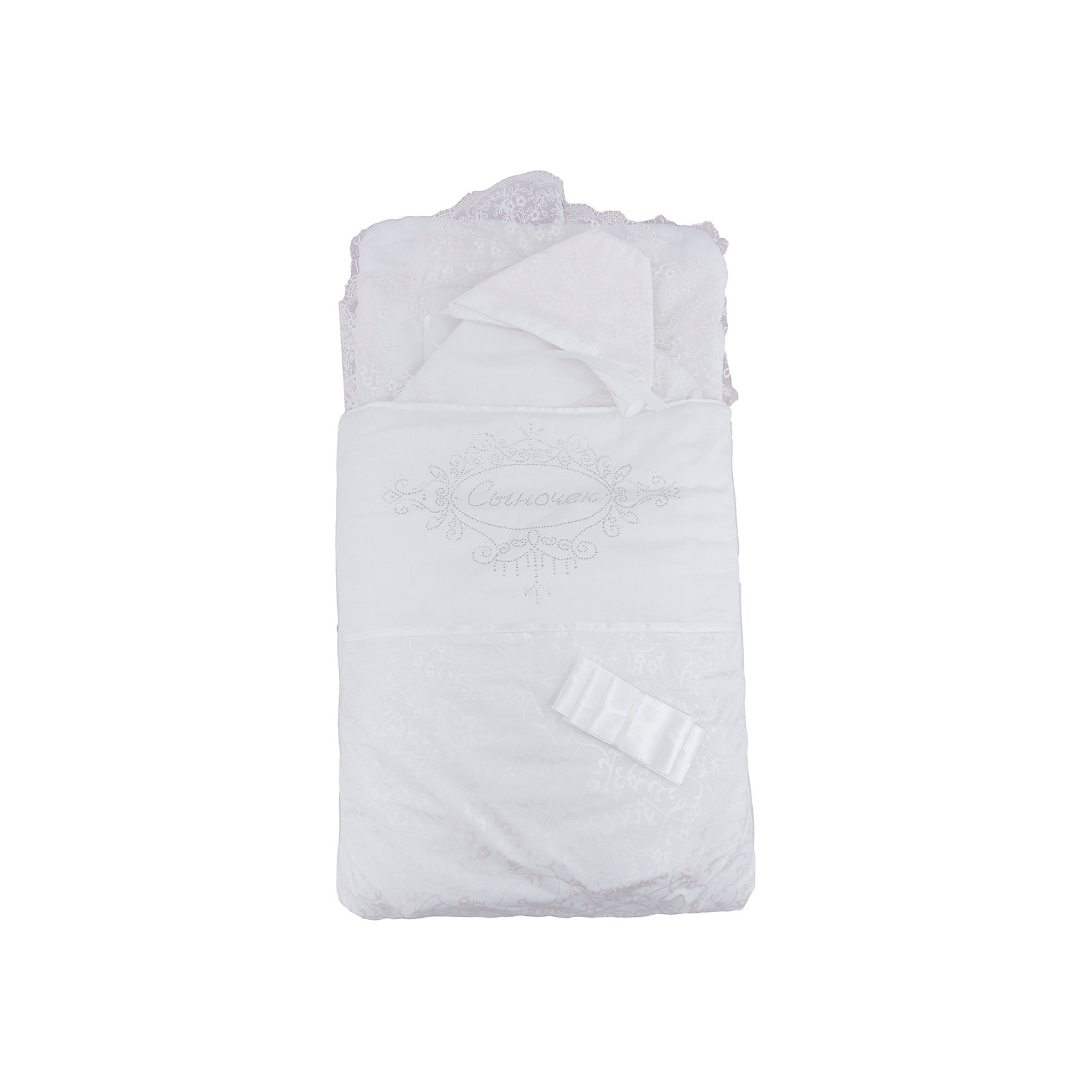 Комплект на выписку 4 пред. СЫНОЧЕК, Арго, шампаньКонверты на выписку<br>Момент выписки мамы с ребенком из роддома - один из самых трогательных. Сделать его более торжественным поможет красивый комплект для выписки. Он состоит из четырех предметов: конверта, нарядного одеяла, нарядного чепчика и атласной ленточки.<br>Одеяло сшито из красивого сатина и обшито кружевами. Конверт - из тика и сатина, украшен стразами Сыночек. Материалы подобраны специально для новорожденных. Они гипоаллергенны, пропускают воздух, не вызывают раздражения.<br><br>Дополнительная информация:<br><br>цвет: шампань;<br>материал: тик, сатин - 100% хлопок;<br>комплектация: конверт, одеяло, чепчик, ленточка;<br>размеры одеял: 45х75 и 90х90 см;<br>возраст: 0-6 месяцев.<br><br>Комплект на выписку 4 пред. СЫНОЧЕК, шампань, от компании Арго можно купить в нашем магазине.<br><br>Ширина мм: 900<br>Глубина мм: 500<br>Высота мм: 150<br>Вес г: 500<br>Возраст от месяцев: 0<br>Возраст до месяцев: 6<br>Пол: Унисекс<br>Возраст: Детский<br>SKU: 4720108