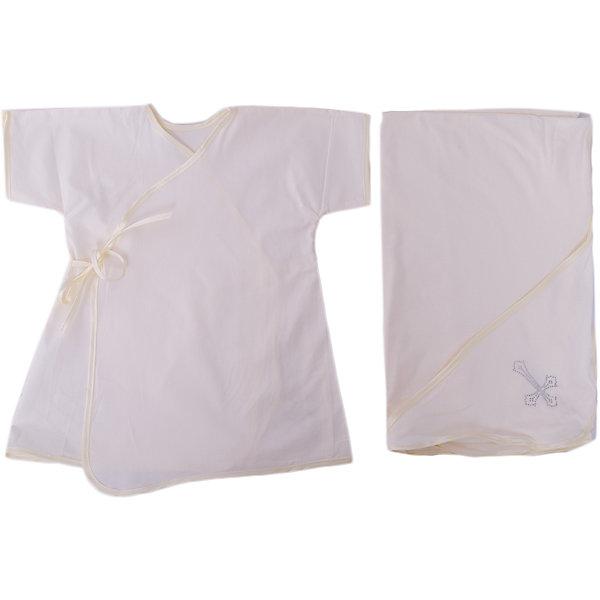Крестильный комплект 2 пред. 62-68р., Арго, шампаньКрестильные наборы<br>Момент крещения ребенка - один из самых трогательных. Сделать его более торжественным поможет красивый крестильный комплект. Он состоит из двух предметов, это: удобная нарядная крестильная рубашка из сатина с запахом на спине, подол которой украшен стразами, и пеленка с уголком из мягкого трикотажа.<br>Смотрится набор очень красиво. Материалы подобраны специально для новорожденных. Они гипоаллергенны, пропускают воздух, не вызывают раздражения.<br><br>Дополнительная информация:<br><br>цвет: шампань;<br>материал: сатин, трикотаж - 100% хлопок;<br>комплектация: рубашка и пеленка;<br>размер: 62-68 см;<br>возраст: 0-6 месяцев.<br><br>Крестильный комплект 2 пред. 62-68р, шампань, от компании Арго можно купить в нашем магазине.<br>Ширина мм: 500; Глубина мм: 500; Высота мм: 100; Вес г: 50; Возраст от месяцев: 0; Возраст до месяцев: 6; Пол: Унисекс; Возраст: Детский; SKU: 4720137;