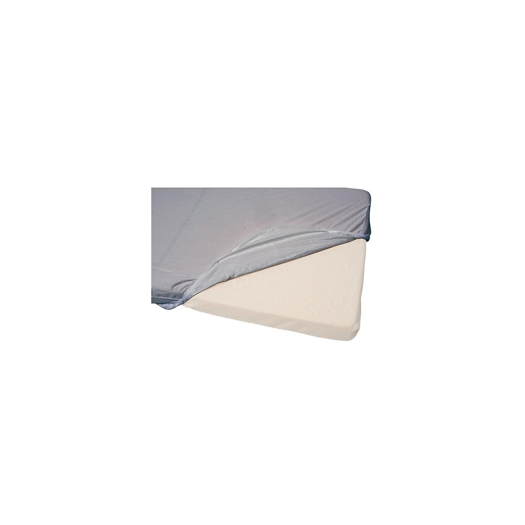 candide Наматрасник водонепроницаемый 60х120 см., хлопок, Candide, Серый простыни candide простыня cotton fitted sheet 60x120