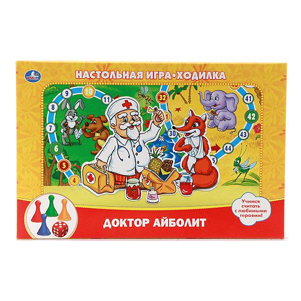 Настольная игра-ходилка Доктор Айболит, Умка