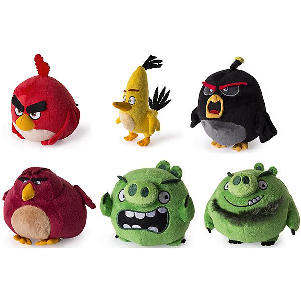 Плюшевая птичка 13см, Angry BirdsМягкие игрушки животные<br>Плюшевая сердитая птичка. Размер 13см. 6 видов в ассортименте. Каждая игрушка продается отдельно<br><br>Ширина мм: 130<br>Глубина мм: 130<br>Высота мм: 120<br>Вес г: 116<br>Возраст от месяцев: 36<br>Возраст до месяцев: 192<br>Пол: Унисекс<br>Возраст: Детский<br>SKU: 4720291