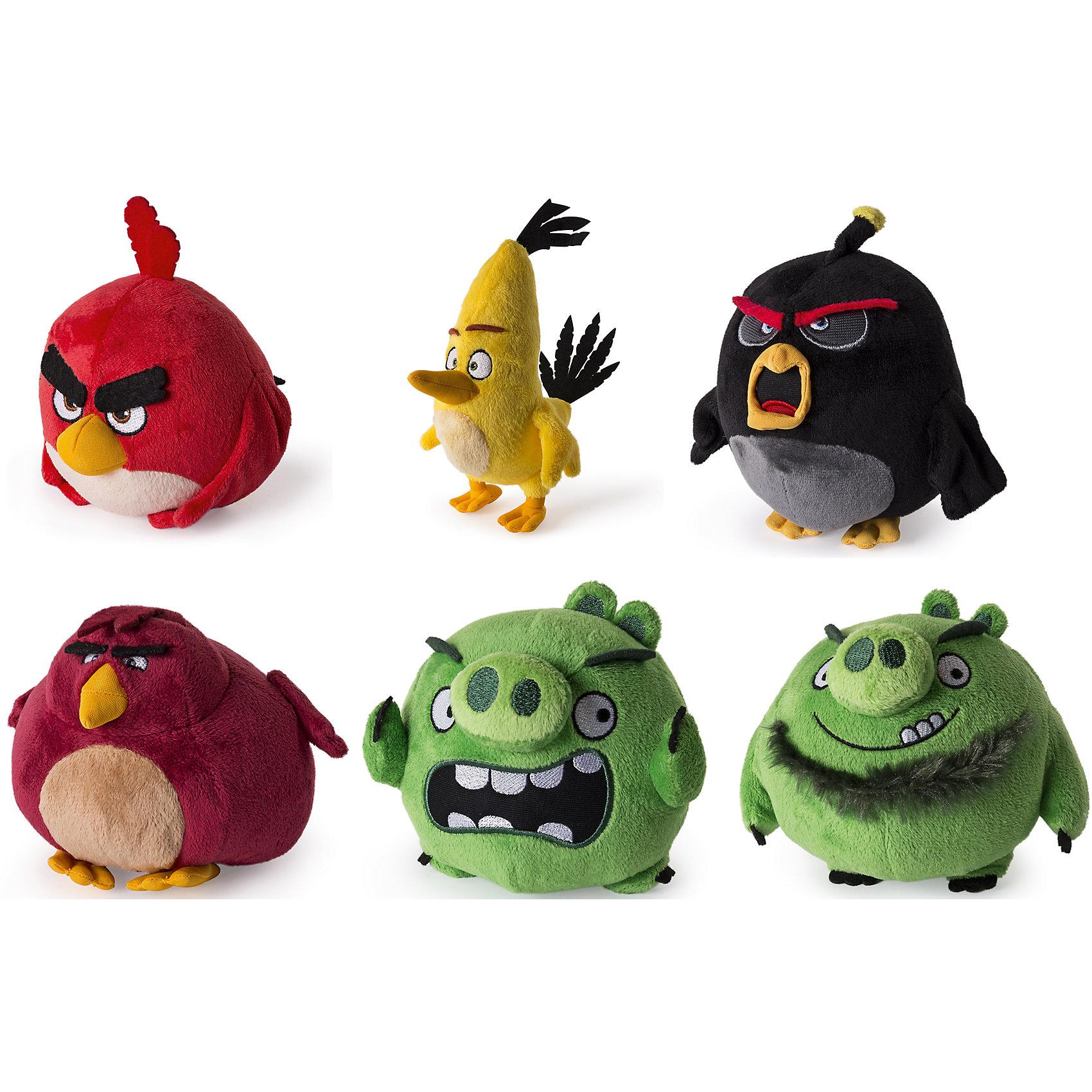 - Плюшевая птичка 13см, Angry Birds игрушка плюшевая famosa ферби 29 cm в ассортименте