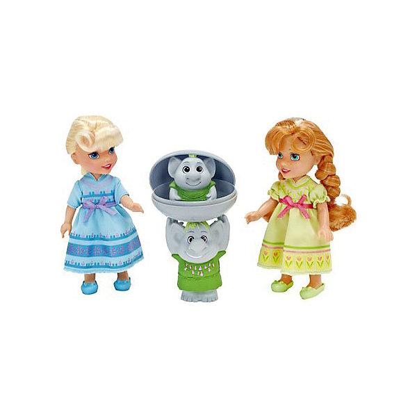 Игровой набор 2 куклы и Тролли, Холодное СердцеИгрушки<br>Характеристики товара:<br><br>- цвет: разноцветный;<br>- материал: текстиль, пластик;<br>- размер кукол: 15 см;<br>- комплектация: 2 куклы, тролли, камень;<br>- вес: 480 г.<br><br>Играть с фигурками из любимого мультфильма - вдвойне интереснее! Фигурки героев мультика Холодное Сердце очень красивые, они хорошо детализированы. Каждая фигурка отлично выполнена, похожа на героя мультика, поэтому игровой набор с ними станет желанным подарком для ребенка. В комплекте - принцессы Эльза и Анна в домашней одежде и с волосами, которые можно расчесывать. Также в наборе - фигурки троллей, которые можно прятать в камень. Такой набор отлично тренирует у ребенка разные навыки: играя с фигурками, ребенок развивает мелкую моторику, цветовосприятие, внимание, воображение и творческое мышление. <br>Изделие произведено из качественных проверенных материалов, безопасных для малышей.<br><br>Игровой набор 2 куклы и Тролли, Холодное Сердце, можно купить в нашем интернет-магазине.<br>Ширина мм: 300; Глубина мм: 195; Высота мм: 80; Вес г: 480; Возраст от месяцев: 36; Возраст до месяцев: 120; Пол: Женский; Возраст: Детский; SKU: 4720300;