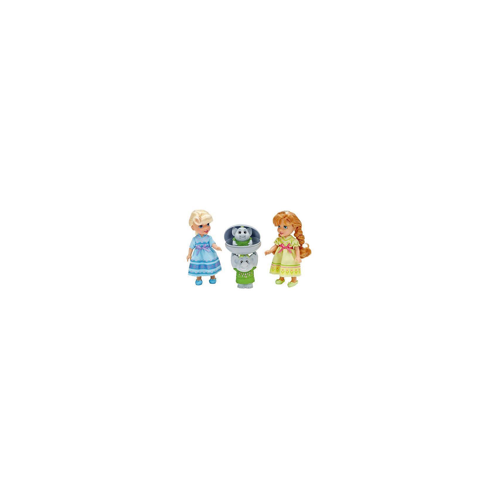 Игровой набор 2 куклы и Тролли, Холодное СердцеИгрушки<br>Характеристики товара:<br><br>- цвет: разноцветный;<br>- материал: текстиль, пластик;<br>- размер кукол: 15 см;<br>- комплектация: 2 куклы, тролли, камень;<br>- вес: 480 г.<br><br>Играть с фигурками из любимого мультфильма - вдвойне интереснее! Фигурки героев мультика Холодное Сердце очень красивые, они хорошо детализированы. Каждая фигурка отлично выполнена, похожа на героя мультика, поэтому игровой набор с ними станет желанным подарком для ребенка. В комплекте - принцессы Эльза и Анна в домашней одежде и с волосами, которые можно расчесывать. Также в наборе - фигурки троллей, которые можно прятать в камень. Такой набор отлично тренирует у ребенка разные навыки: играя с фигурками, ребенок развивает мелкую моторику, цветовосприятие, внимание, воображение и творческое мышление. <br>Изделие произведено из качественных проверенных материалов, безопасных для малышей.<br><br>Игровой набор 2 куклы и Тролли, Холодное Сердце, можно купить в нашем интернет-магазине.<br><br>Ширина мм: 300<br>Глубина мм: 195<br>Высота мм: 80<br>Вес г: 480<br>Возраст от месяцев: 36<br>Возраст до месяцев: 120<br>Пол: Женский<br>Возраст: Детский<br>SKU: 4720300