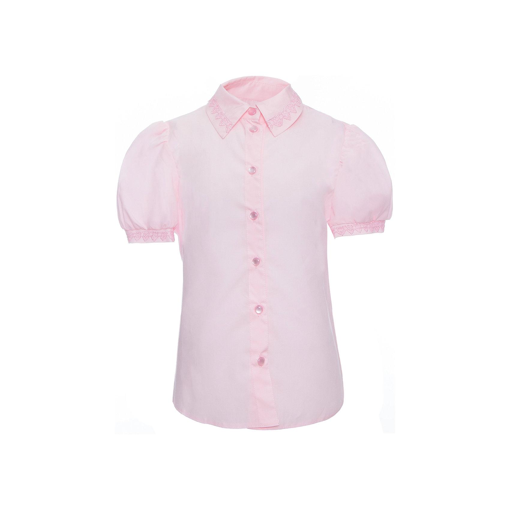 Блузка для девочки СменаБлузки и рубашки<br>Блузка для девочки от известного бренда Смена<br><br>Состав:<br>35%-хлопок;65%-полиэстер<br><br>Ширина мм: 186<br>Глубина мм: 87<br>Высота мм: 198<br>Вес г: 197<br>Цвет: розовый<br>Возраст от месяцев: 132<br>Возраст до месяцев: 144<br>Пол: Женский<br>Возраст: Детский<br>Размер: 152,134,158,146,128,122,140<br>SKU: 4720325
