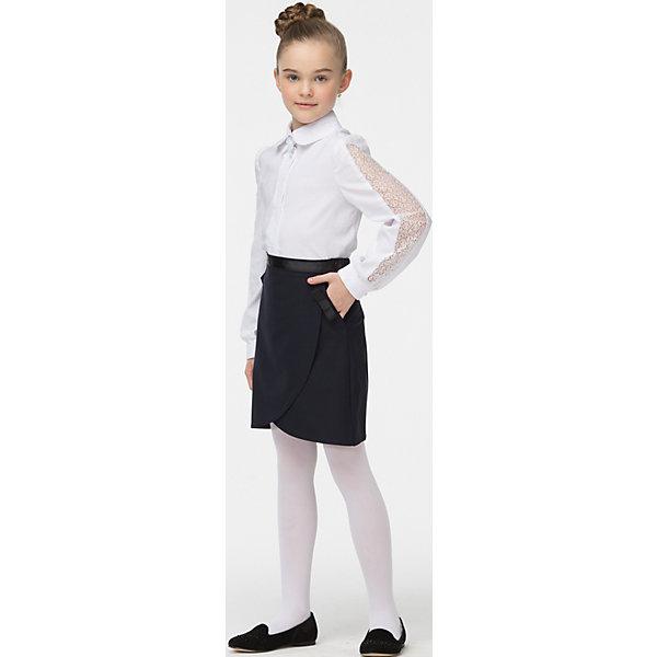 Блузка для девочки СменаБлузки и рубашки<br>Блузка для девочки от известного бренда Смена<br><br>Состав:<br>60%-хлопок;40%-полиэстер<br><br>Ширина мм: 186<br>Глубина мм: 87<br>Высота мм: 198<br>Вес г: 197<br>Цвет: белый<br>Возраст от месяцев: 72<br>Возраст до месяцев: 84<br>Пол: Женский<br>Возраст: Детский<br>Размер: 122,140,146,152,158,128,134<br>SKU: 4720382