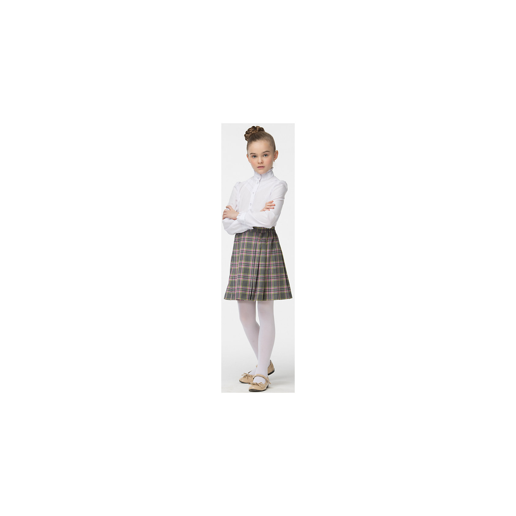 Блузка для девочки СменаБлузки и рубашки<br>Блузка для девочки от известного бренда Смена<br>Строгая элегантная блузка с длинными рукавами и воротником - стойкой. Отделка декоративной кружевной тесьмой и оборочками по воротнику и манжетам придаёт блузке нарядный вид<br>Состав:<br>60%-хлопок;40%-полиэстер<br><br>Ширина мм: 186<br>Глубина мм: 87<br>Высота мм: 198<br>Вес г: 197<br>Цвет: белый<br>Возраст от месяцев: 72<br>Возраст до месяцев: 84<br>Пол: Женский<br>Возраст: Детский<br>Размер: 122,158,152,146,140,134,128<br>SKU: 4720406