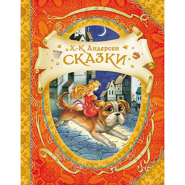 Сказки, Х.-К. АндерсенАндерсен Г.Х.<br>В книгу вошли самые известные и любимые произведения великого сказочника: «Огниво»,  «Дюймовочка», «Гадкий утёнок»,  «Свинопас», «Новое платье короля», «Снежная королева». <br>Тексты издаются без сокращений в классических переводах А. Ганзен, Т. Габбе, А. Любарской. <br>Красочные иллюстрации художника-графика, иллюстратора детской книги, участника международных выставок  Елены Звольской. <br>Сказки Андерсена самобытны и выделяются среди произведений других писателей-сказочников:  его истории и герои не взяты из фольклора, а придуманы им самим. И хотя в сказках много печали и грусти, благодаря их поэтичности и красоте в душе каждого пробуждаются самые тёплые и светлые чувства.<br>Ширина мм: 260; Глубина мм: 200; Высота мм: 5; Вес г: 607; Возраст от месяцев: 60; Возраст до месяцев: 2147483647; Пол: Унисекс; Возраст: Детский; SKU: 4720551;