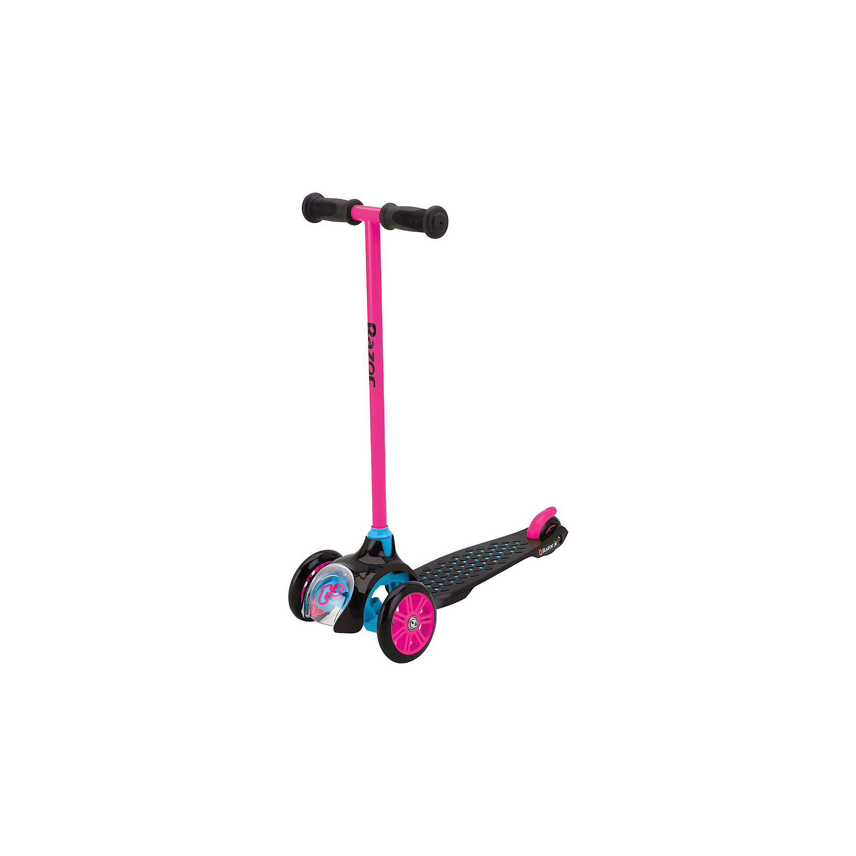 Razor Детский трёхколёсный самокат T3, розовый, Razor