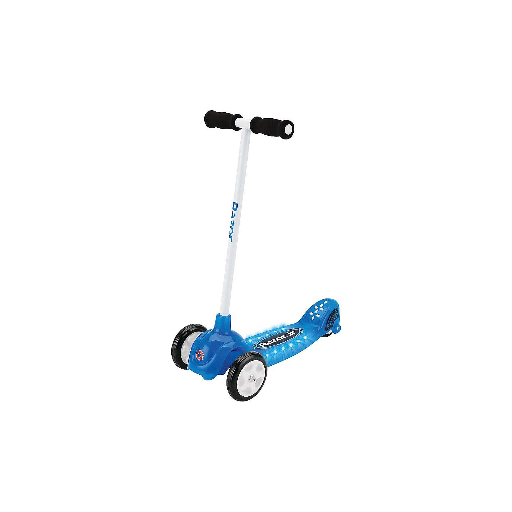 Razor Детский трёхколёсный самокат Lil Tek, синий, Razor детский самокат fenix cms031