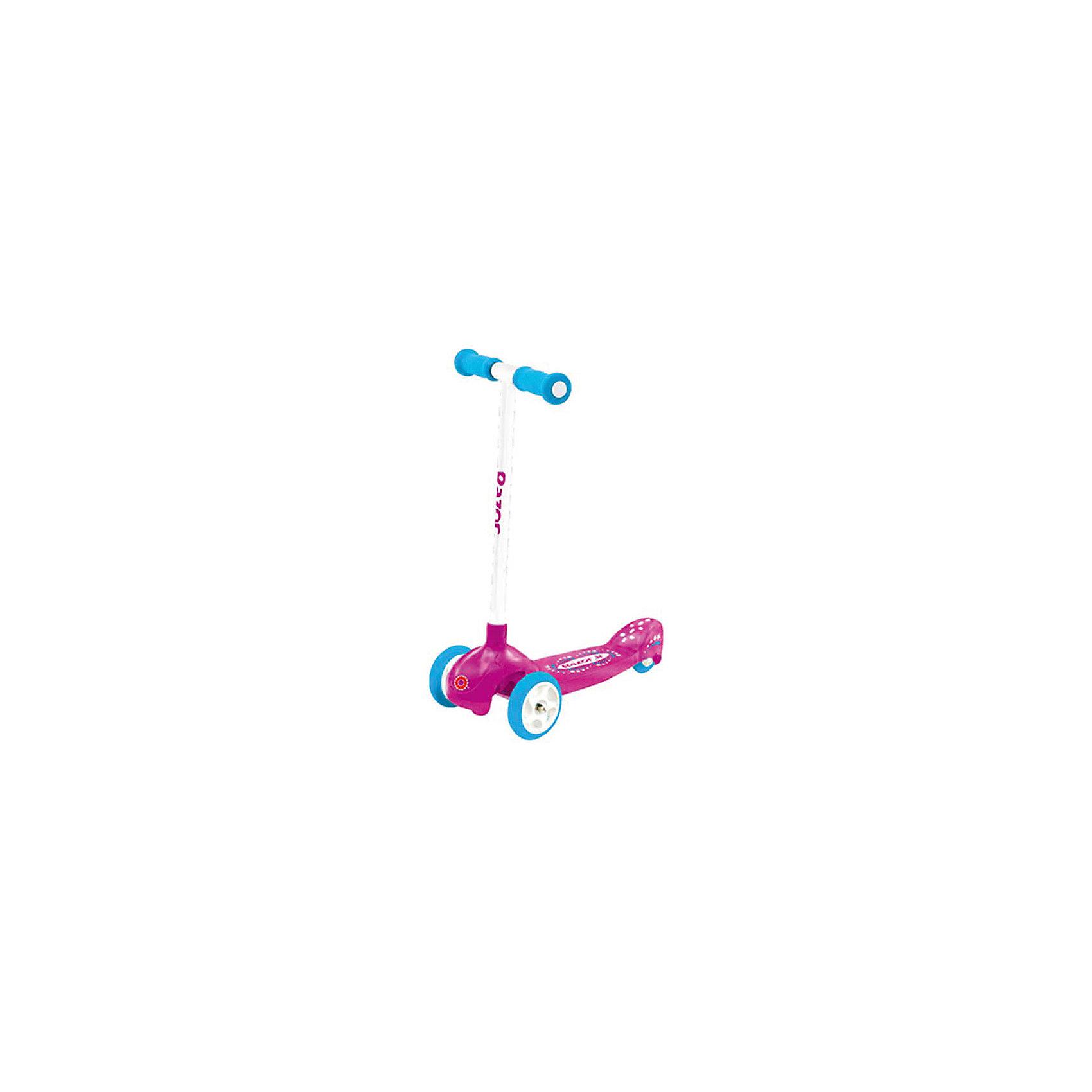 Razor Детский трёхколёсный самокат Lil Pop, розовый, Razor
