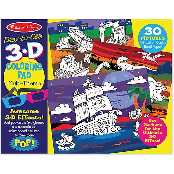 Раскраска для мальчиков с 3D очкамиРаскраски по номерам<br>Книжка-раскраска -  это необычная раскраска, которая  непременно понравится юному художнику! Ее уникальность в том, что посмотрев на картинки через 3D очки, изображенные объекты станут объемными, ваш ребенок будет с интересом познавать эти увлекательные страницы альбома. .<br><br>Дополнительная информация:<br><br>-Комплектация: специальные анаглифные 3D-очки, 30 страниц раскраски.<br>-Размер упаковки: 36х1х28 см<br>-Вес в упаковке: 408 г<br><br>Такая оригинальная раскраска – идеальный вариант для занятий творчеством, ведь в ненавязчивой игровой форме детки будут развивать художественные навыки и визуальное восприятие цветов.<br><br>Раскраску для мальчиков с ЗD очками можно купить в нашем магазине.<br>Ширина мм: 360; Глубина мм: 10; Высота мм: 280; Вес г: 408; Возраст от месяцев: 48; Возраст до месяцев: 180; Пол: Мужской; Возраст: Детский; SKU: 4720652;