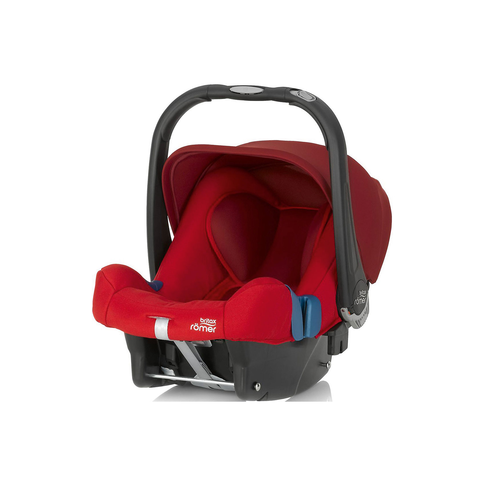 Britax Römer Автокресло Baby-Safe Plus SHR II, 0-13 кг., Britax Roemer, Flame Red автокресло britax roemer детское автокресло britax roemer kid ii группа 2 3 от 15 до 36 кг flame red