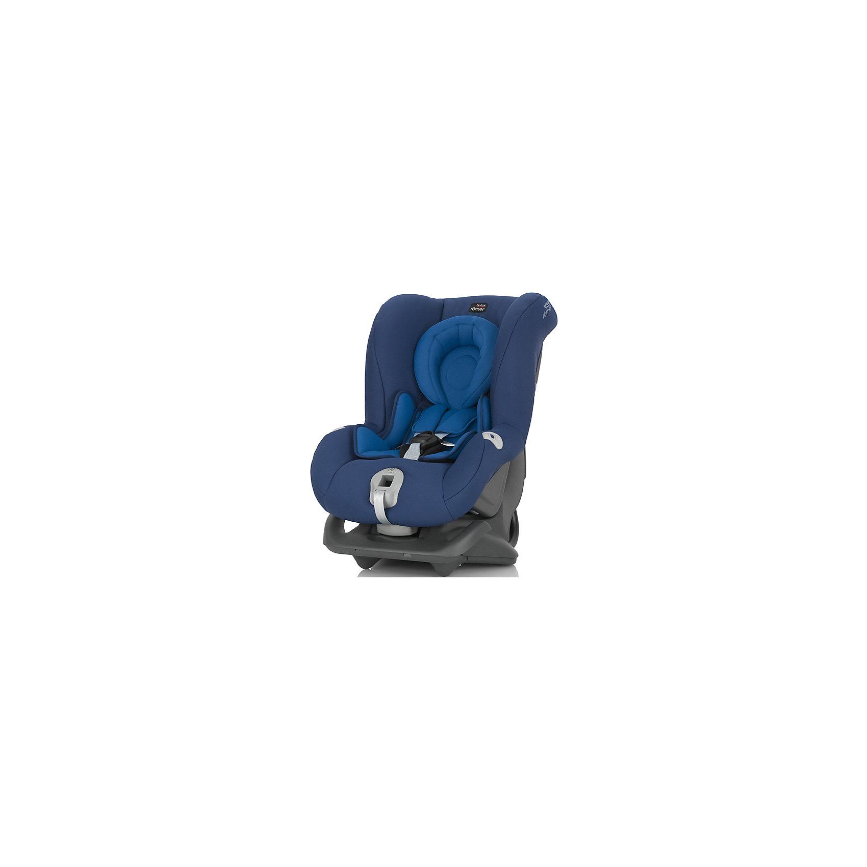 Автокресло Britax Romer FIRST CLASS plus, 0-18 кг, Ocean BlueГруппа 0+, 1 (До 18 кг)<br>Автокресло First Class plus, Britax Roemer - комфортная надежная модель, которая сделает поездку Вашего ребенка приятной и безопасной. Сиденье кресла с мягкой вставкой для новорожденных и большим закругленным подголовником обеспечивает комфорт во время длительных поездок. По мере подрастания ребенка вставку можно убрать, увеличив тем самым размер сиденья. Спинка сиденья фиксируется в нескольких положениях (для сна, отдыха и бодрствования), что позволяет выбрать наиболее удобное для ребенка. Кресло оснащено регулируемыми 5-точечными ремнями безопасности с мягкими плечевыми накладками и централизованной регулировкой натяжения. Глубокие боковины с мягкими вставками обеспечивают оптимальную защиту при боковых ударах, а уникальный регулятор наклона уменьшает смещение вперед в случае столкновения.<br><br>Автокресло легко и надежно фиксируется при помощи штатных ремней безопасности. Для малышей весом до 13 кг. автокресло устанавливается на заднем сиденье лицом против движения авто, для малышей от 9 до18 кг. кресло устанавливается лицом по ходу движения автомобиля.<br>В нижней части автокресла имеется специальный упор для компенсации неровности автомобильного сиденья. Обивка кресла изготовлена из высококачественных материалов, съемные тканевые чехлы можно стирать в машинке при деликатном режиме стирки. Автокресло имеет стандарт безопасности ECE R 44/04. Рассчитано на детей от 0 до 3-4 лет, весом 0-18 кг.<br><br>Дополнительная информация:<br><br>- Цвет: Ocean Blue. <br>- Материал: текстиль, пластик.<br>- Размер (ДхШхВ): 59 х 45 х 65 см. <br>- Вес: 8,4 кг.<br><br>Автокресло FIRST CLASS plus, 0-18 кг., Britax Roemer, Ocean Blue, можно купить в нашем интернет-магазине.<br><br>Ширина мм: 590<br>Глубина мм: 450<br>Высота мм: 650<br>Вес г: 12000<br>Возраст от месяцев: 0<br>Возраст до месяцев: 15<br>Пол: Унисекс<br>Возраст: Детский<br>SKU: 4722136