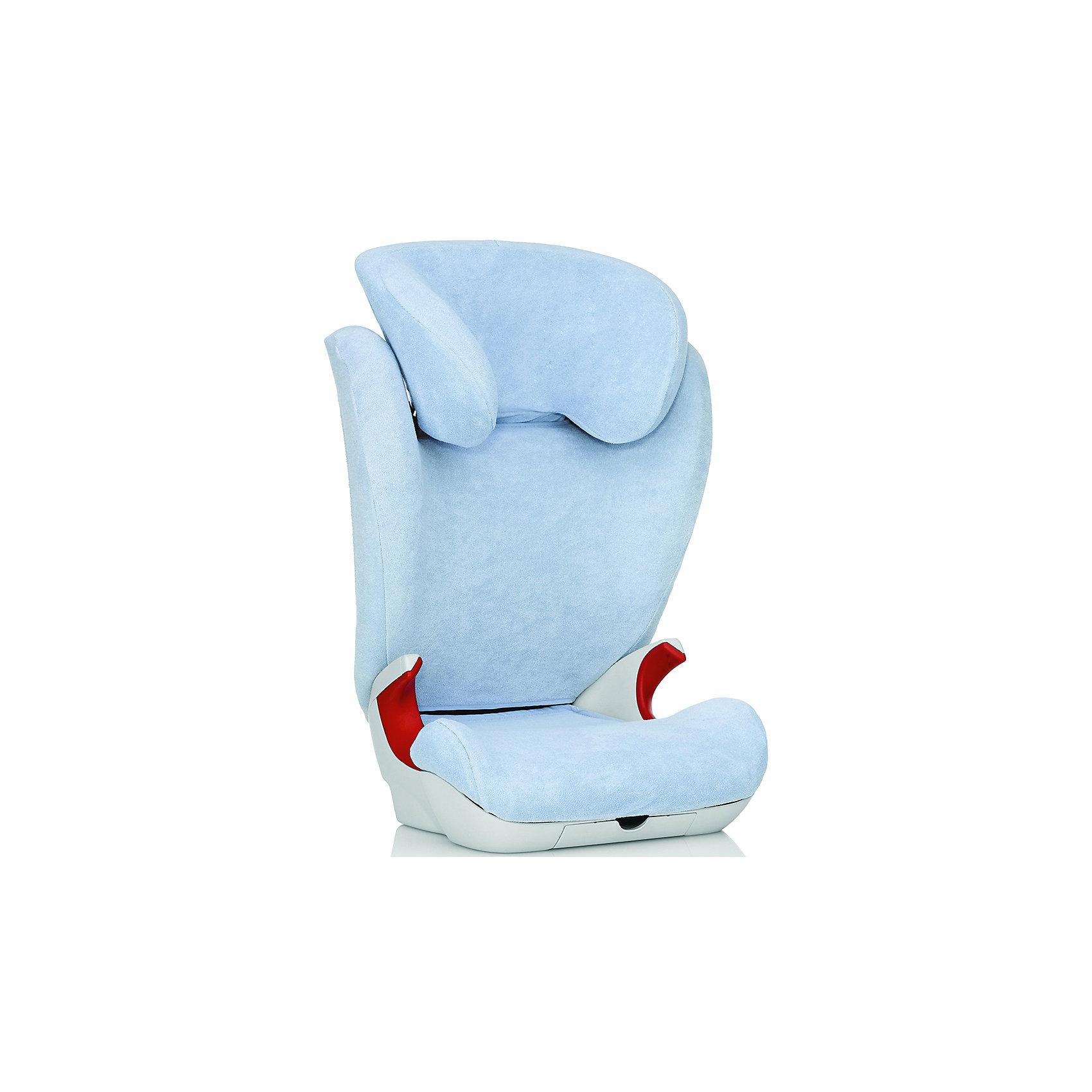 Летний чехол для автокресла KID II, Britax Roemer, BlueАксессуары<br>Летний чехол для автокресла KID II, Britax Roemer, сделает поездку Вашего ребенка еще более приятной и комфортной. Чехол выполнен в нежной голубой расцветке. Махровая ткань очень мягкая и приятная на ощупь. Чехол прекрасно поглощает влагу, поэтому идеально подходит для использования в жаркую летную погоду. Ткань состоит из 80% хлопка и 20% полиэстера. Чехол можно стирать в машинке при температуре 60° C. Подходит для автокресел Kid II и KIDFIX SL от Romer.  <br><br>Дополнительная информация:<br><br>- Цвет: Blue (голубой). <br>- Материал: 80% хлопок, 20% полиэстер.<br>- Размер упаковки: 30 х 15 х 30 см. <br>- Вес: 1,2 кг.<br><br>Летний чехол для автокресла KID II, Britax Roemer, Blue, можно купить в нашем интернет-магазине.<br><br>Ширина мм: 150<br>Глубина мм: 200<br>Высота мм: 300<br>Вес г: 1200<br>Возраст от месяцев: 48<br>Возраст до месяцев: 144<br>Пол: Унисекс<br>Возраст: Детский<br>SKU: 4722137