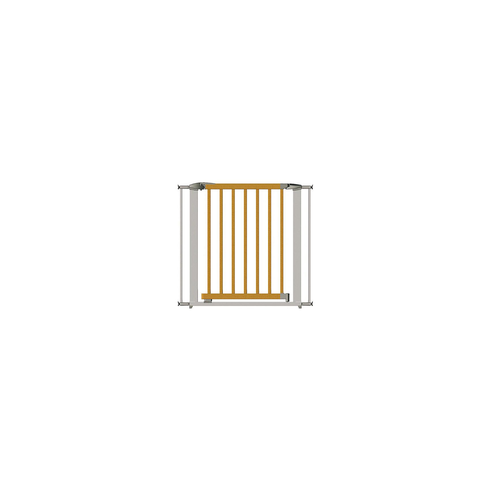 Clippasafe Ворота безопасности 73-96 см, Clippasafe, серебристый ворота безопасности 73 96см clippasafe белый cl130