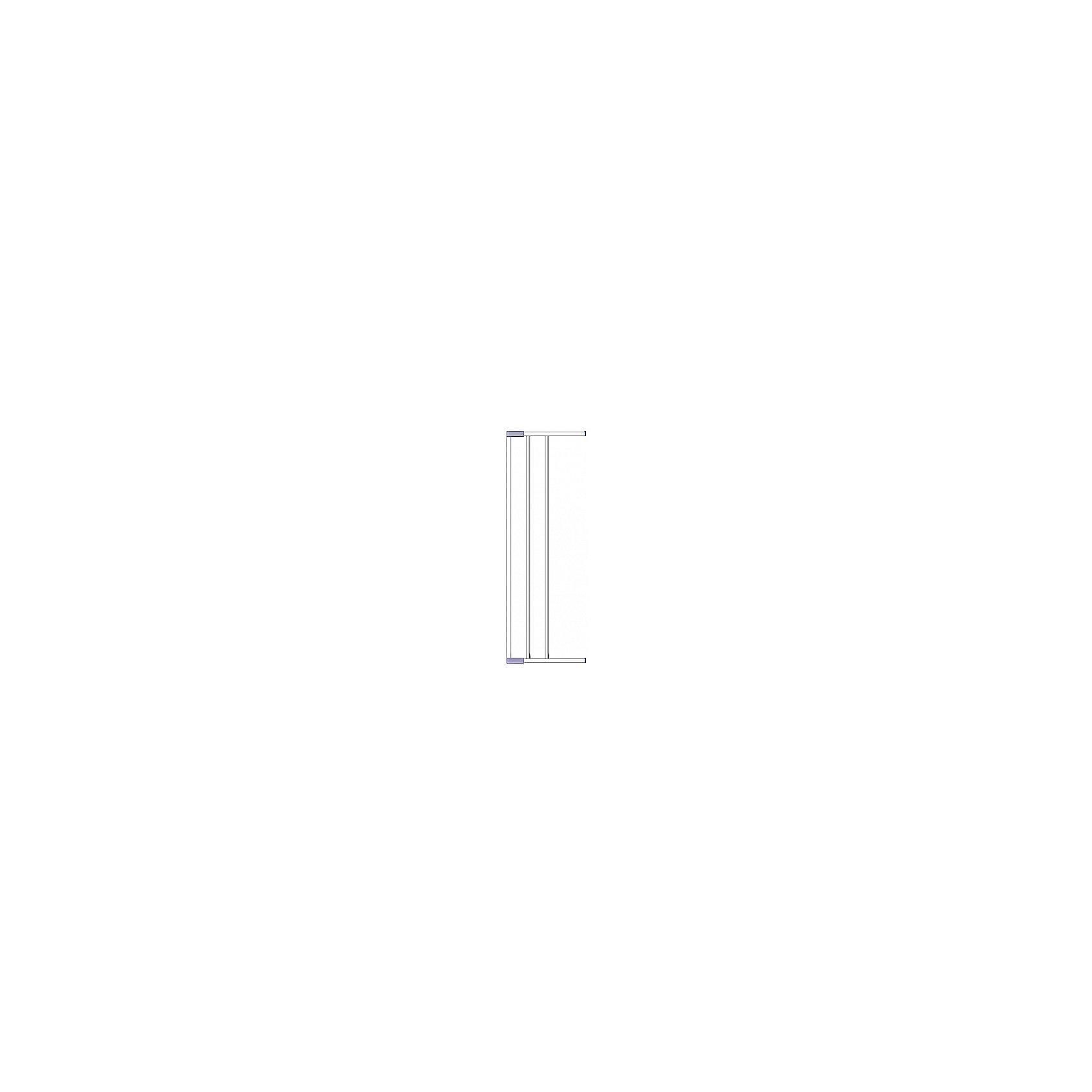 Clippasafe Дополнительная секция к воротам безопасности 18 см, Clippasafe, белый ворота безопасности 73 96см clippasafe белый cl130