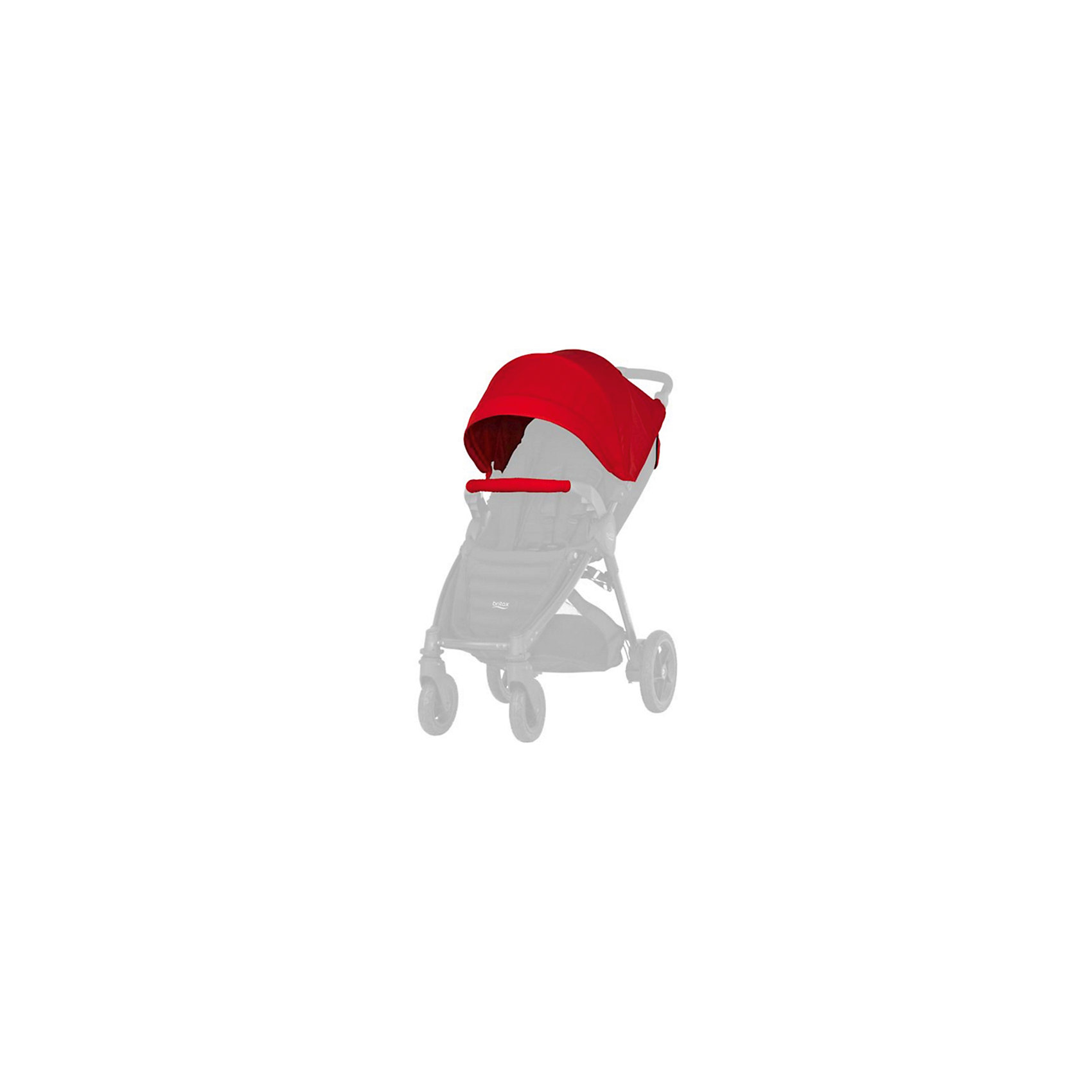 Капор для прогулочной коляски B-Agile/B-Motion, Britax, Flame Red