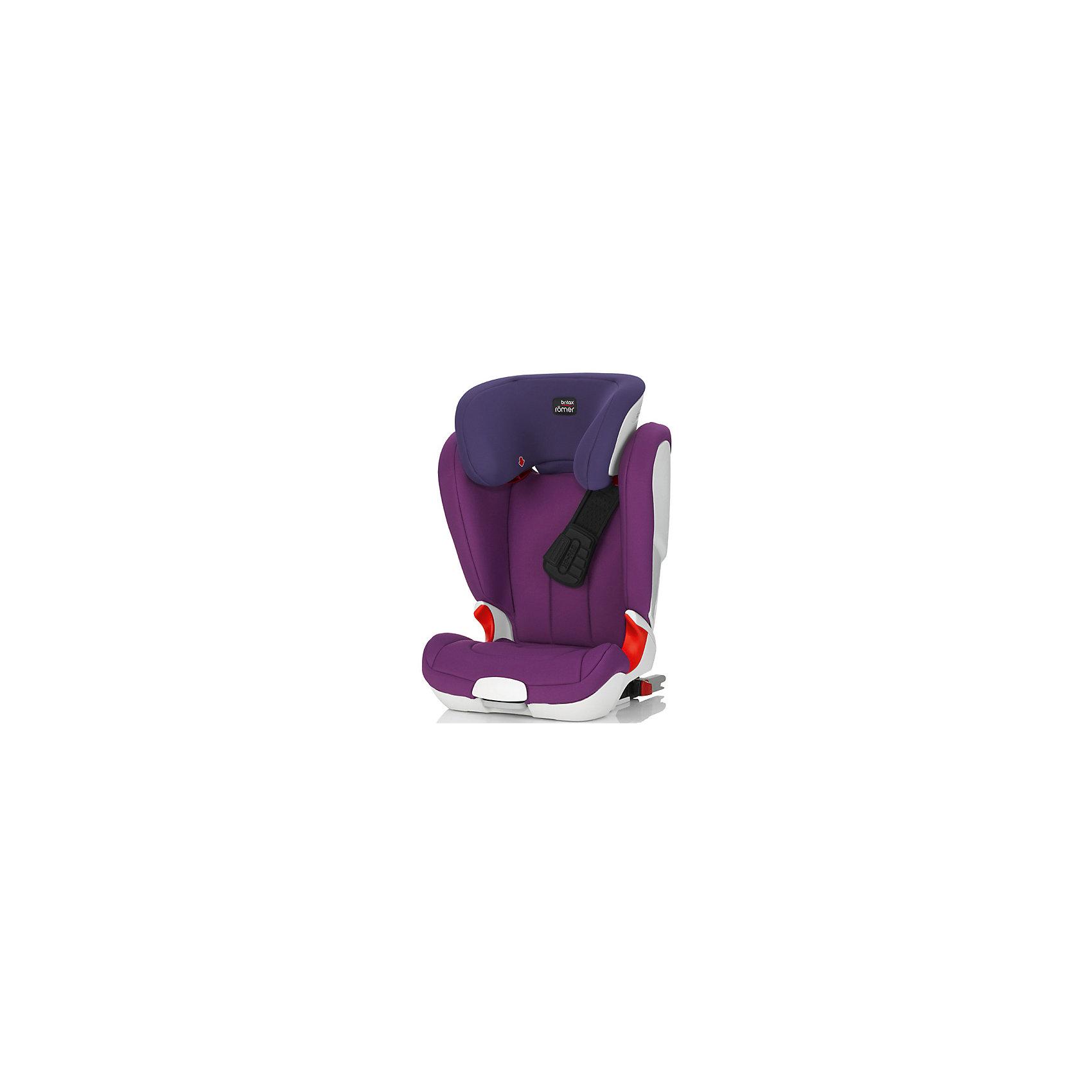 Britax Römer Автокресло KIDFIX XP, 15-36 кг., Britax Roemer, Mineral Purple автокресло britax roemer britax roemer автокресло kidfix xp mineral purple trendline