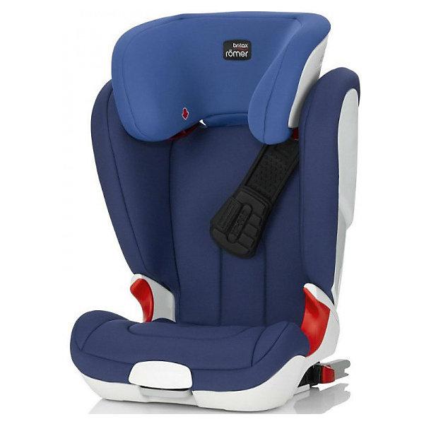Автокресло Britax Romer KIDFIX XP, 15-36 кг, Ocean BlueГруппа 2-3  (от 15 до 36 кг)<br>Автокресло KidFix XP, Britax Roemer - комфортная надежная модель, которая сделает поездку Вашего ребенка приятной и безопасной. Сиденье кресла с завышенным подголовником имеет удобную анатомическую форму, что обеспечивает правильное положение позвоночника.<br>Отсутствие подлокотников гарантирует правильное расположение поясной части ремня безопасности. Подголовник регулируется по высоте в 11 положениях, в зависимости от роста ребенка, а его V-образная форму удерживает голову в максимально комфортном положении. Спинка автокресла плавно подгоняется под наклон сиденья автомобиля. Ребенок фиксируется в автокресле штатными 3-точечными ремнями безопасности автомобиля, верхние направляющие для ремня встроены в подголовник и регулируются по высоте одной рукой.<br><br>Уникальная система безопасности  XP-PAD позволяет максимально обезопасить от травм и равномерно распределяет нагрузку на шею ребенка при лобовом столкновении. Глубокие, высокие и мягкие боковины обеспечивают оптимальную защиту от боковых ударов. Автокресло устанавливается лицом по ходу движения с помощью штатных ремней автомобиля или с помощью системы Isofix, если Ваш автомобиль оснащен нужными фиксаторами. Встроенные индикаторы показывают правильность установки детского кресла. Кресло изготовлено из высококачественных материалов, съемные тканевые чехлы можно стирать при температуре 30 градусов. Рассчитано на детей от 4 до 12 лет, весом 15-36 кг. Кресло имеет европейский сертификат безопасности ЕСЕ R44/04.<br><br>Дополнительная информация:<br><br>- Цвет: Ocean Blue.<br>- Группа: 2-3 (15-36 кг.).<br>- Материал: текстиль, пластик.<br>- Данная модель НЕ разбирается в бустер!<br>- Размеры: длина - 39 см., ширина - 54 см., высота - 67-86 см.<br>- Вес: 8,5 кг.<br><br>Автокресло KIDFIX XP, 15-36 кг., Britax Roemer, Ocean Blue, можно купить в нашем интернет-магазине.<br><br>Ширина мм: 450<br>Глубина мм: 510<br>Высота мм: 680<br>Вес г