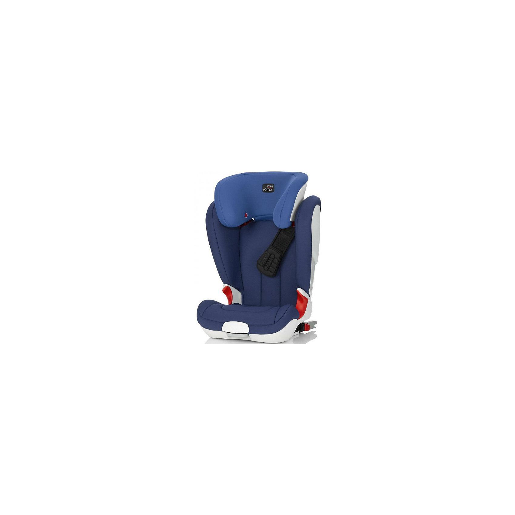 Автокресло Britax Romer KIDFIX XP, 15-36 кг, Ocean BlueГруппа 2-3 (От 15 до 36 кг)<br>Автокресло KidFix XP, Britax Roemer - комфортная надежная модель, которая сделает поездку Вашего ребенка приятной и безопасной. Сиденье кресла с завышенным подголовником имеет удобную анатомическую форму, что обеспечивает правильное положение позвоночника.<br>Отсутствие подлокотников гарантирует правильное расположение поясной части ремня безопасности. Подголовник регулируется по высоте в 11 положениях, в зависимости от роста ребенка, а его V-образная форму удерживает голову в максимально комфортном положении. Спинка автокресла плавно подгоняется под наклон сиденья автомобиля. Ребенок фиксируется в автокресле штатными 3-точечными ремнями безопасности автомобиля, верхние направляющие для ремня встроены в подголовник и регулируются по высоте одной рукой.<br><br>Уникальная система безопасности  XP-PAD позволяет максимально обезопасить от травм и равномерно распределяет нагрузку на шею ребенка при лобовом столкновении. Глубокие, высокие и мягкие боковины обеспечивают оптимальную защиту от боковых ударов. Автокресло устанавливается лицом по ходу движения с помощью штатных ремней автомобиля или с помощью системы Isofix, если Ваш автомобиль оснащен нужными фиксаторами. Встроенные индикаторы показывают правильность установки детского кресла. Кресло изготовлено из высококачественных материалов, съемные тканевые чехлы можно стирать при температуре 30 градусов. Рассчитано на детей от 4 до 12 лет, весом 15-36 кг. Кресло имеет европейский сертификат безопасности ЕСЕ R44/04.<br><br>Дополнительная информация:<br><br>- Цвет: Ocean Blue.<br>- Группа: 2-3 (15-36 кг.).<br>- Материал: текстиль, пластик.<br>- Данная модель НЕ разбирается в бустер!<br>- Размеры: длина - 39 см., ширина - 54 см., высота - 67-86 см.<br>- Вес: 8,5 кг.<br><br>Автокресло KIDFIX XP, 15-36 кг., Britax Roemer, Ocean Blue, можно купить в нашем интернет-магазине.<br><br>Ширина мм: 450<br>Глубина мм: 510<br>Высота мм: 680<br>Вес г: